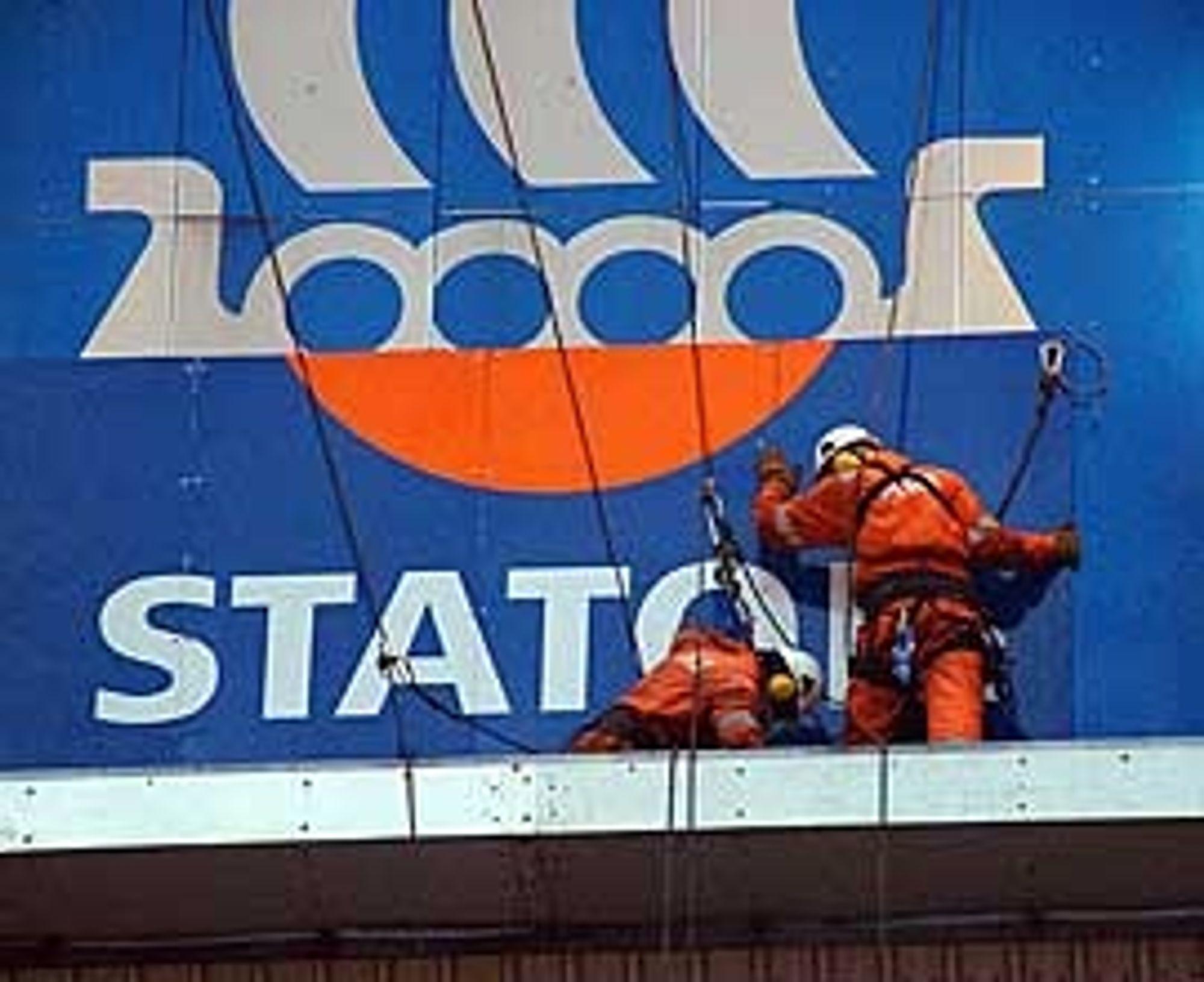 Statoil tok i begynnelsen av 2003 over operatøransvaret for Visund fra Hydro. Dermed måtte logoen på plattformen byttes ut. Kanskje dette er kimen til en ny logo?