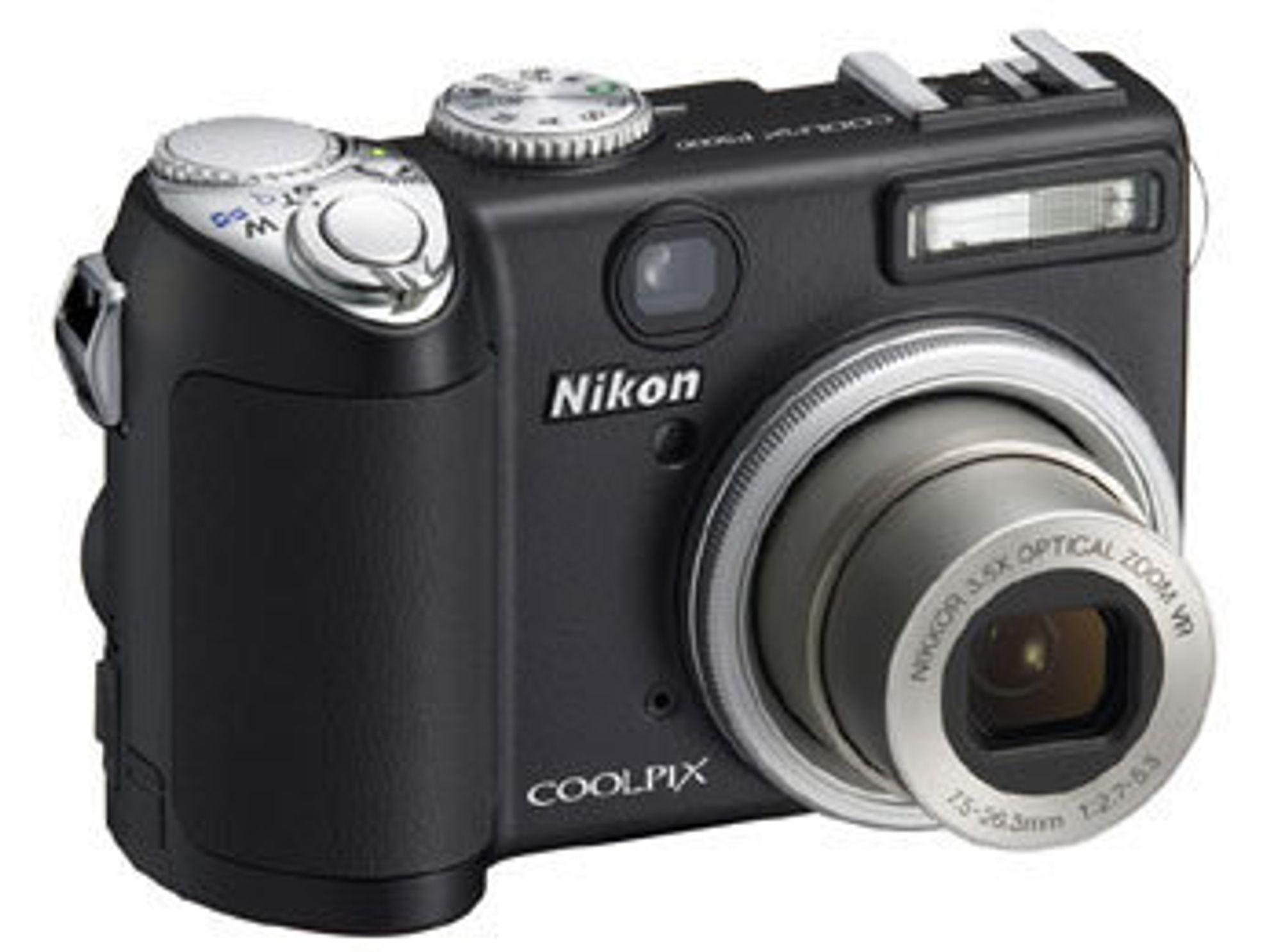 Nikon Coolpix  P5000. Digitalt kamera. Speilrefleks. Digitalkamera. Forbrukerteknologi. Piksler. Megapiksler. Objektiv. Minnebrikke. TIPA.