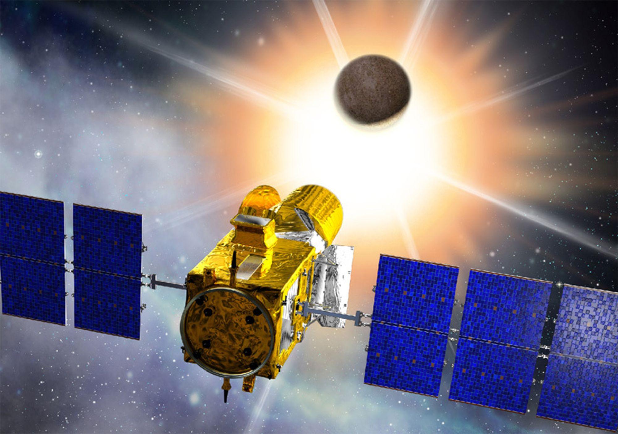COROT skal studere stjernene i detalj for å avsløre hvilke planeter som går i bane rundt dem.