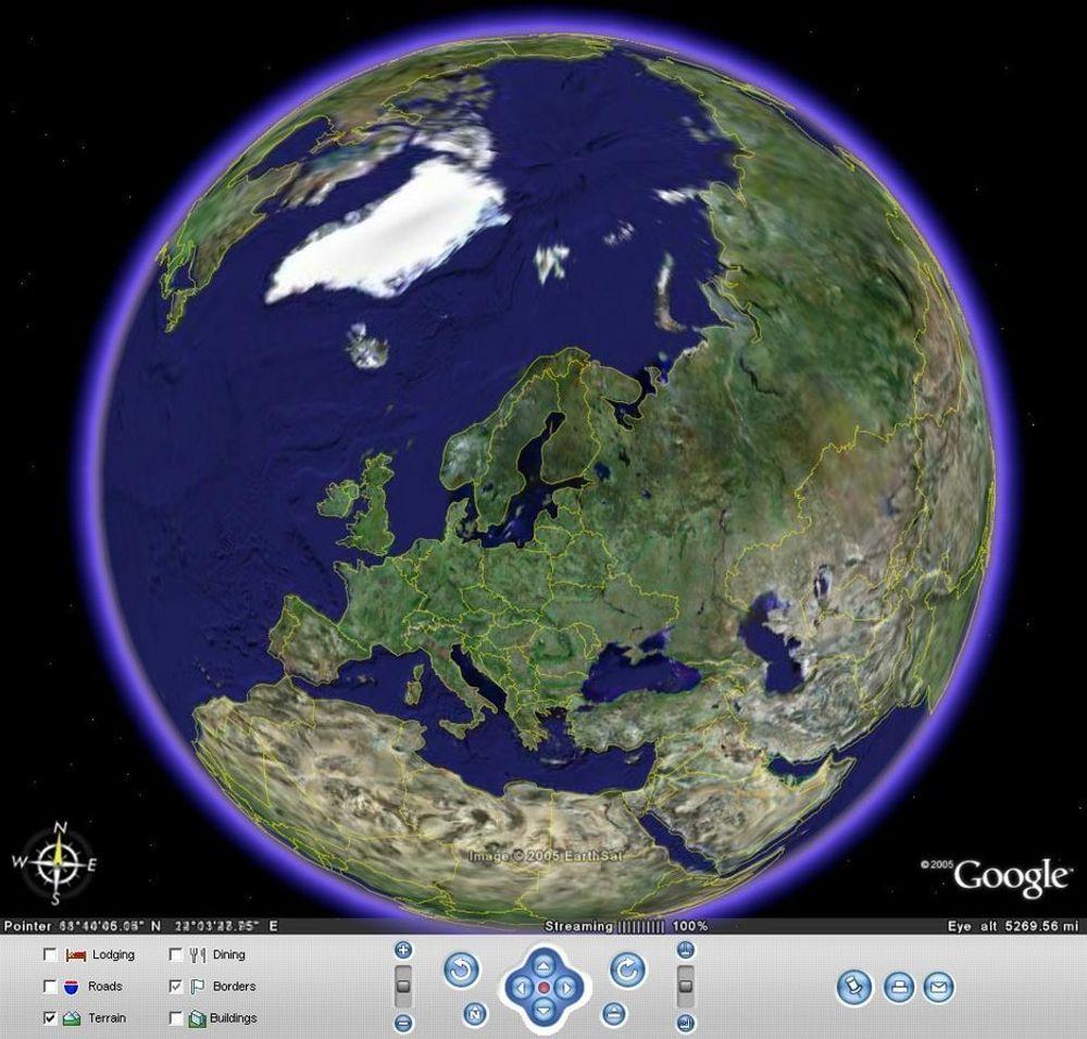 Google Sky er en ekstrafunksjon til siste versjon av Google Earth.