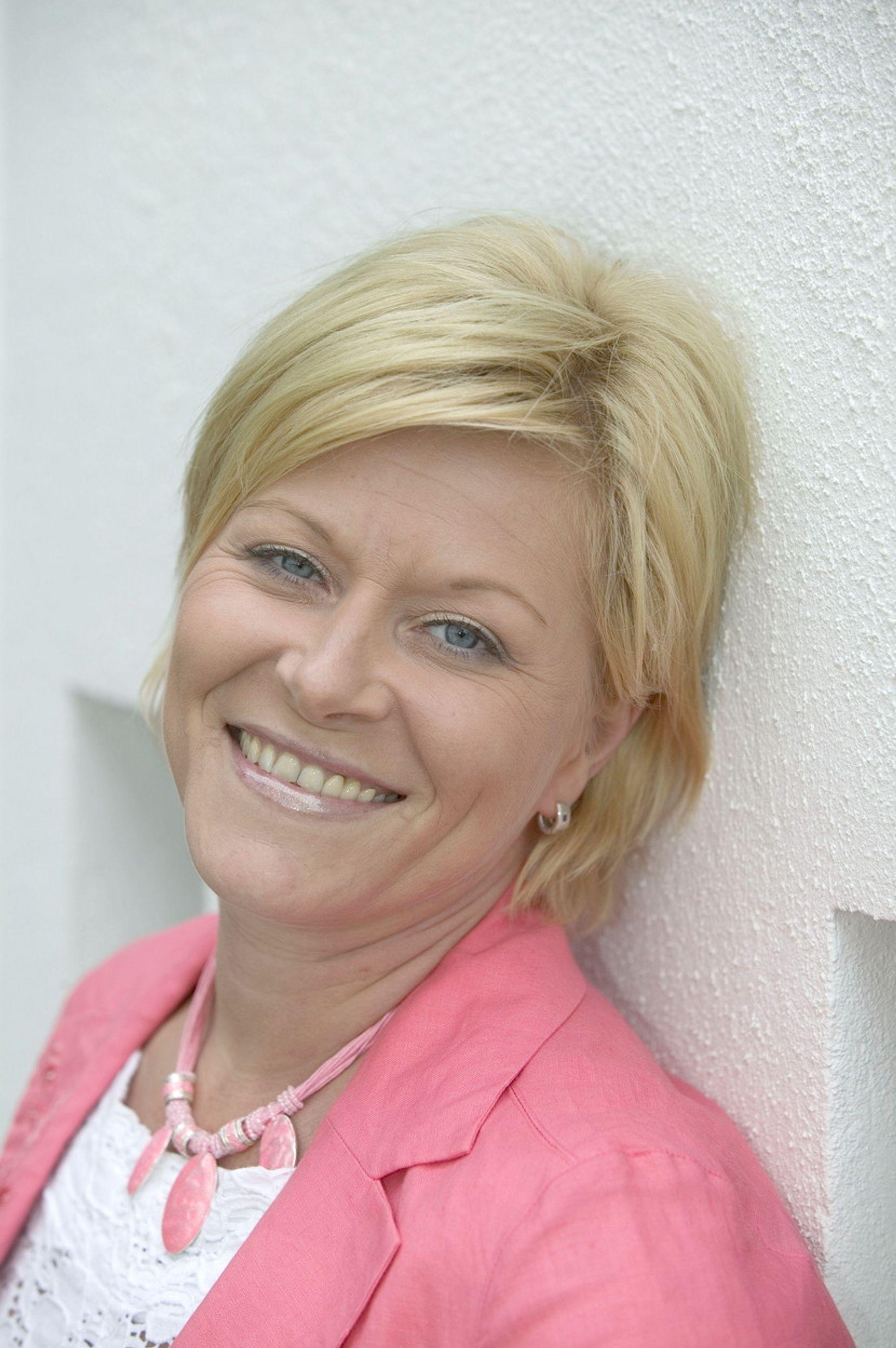 Frp-formann Siv Jensen