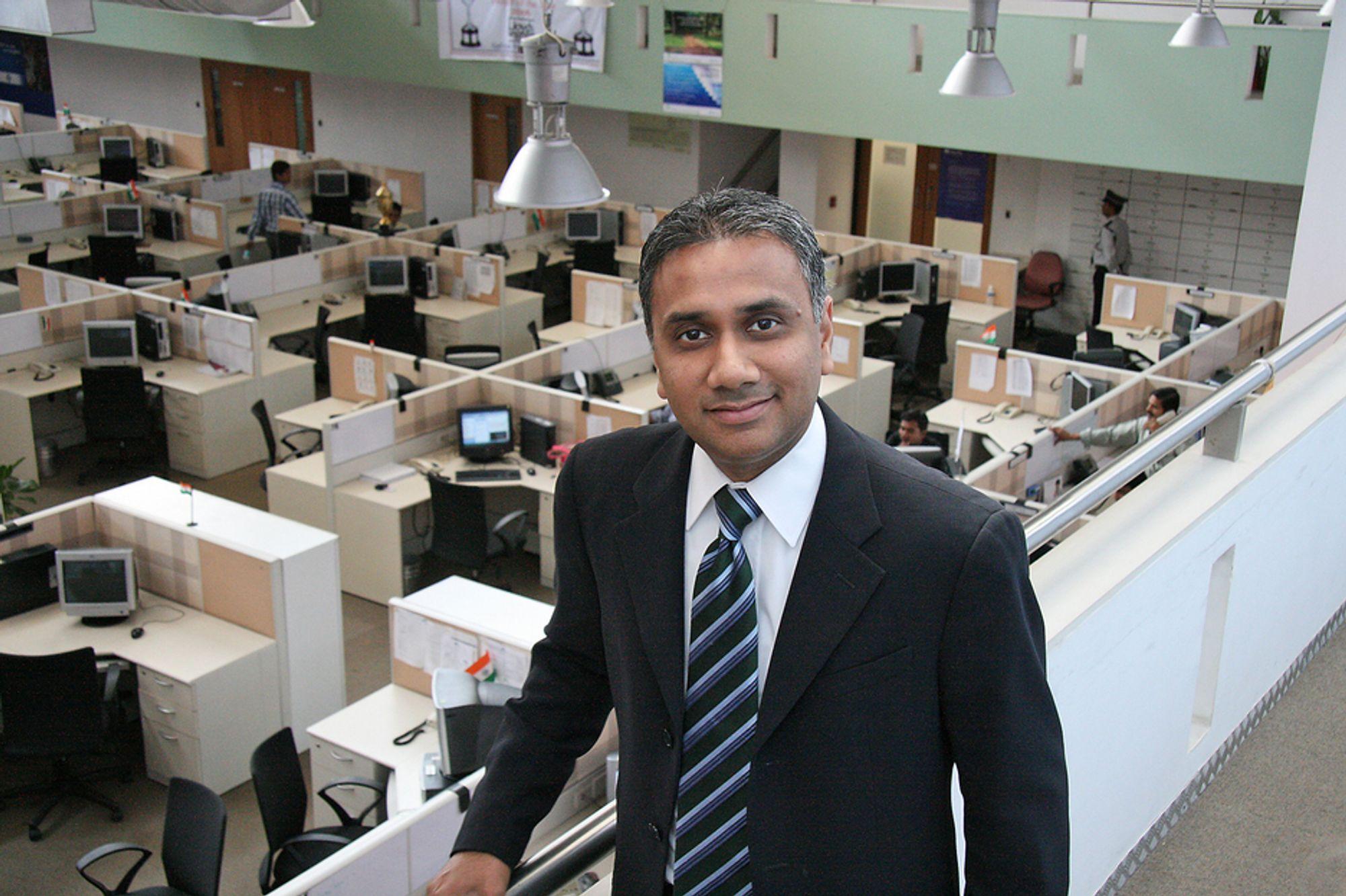 STORE I INDIA: Cap Gemini har over 20 000 ansatte i India.