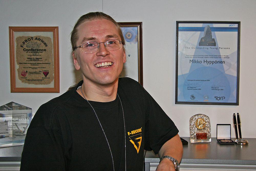 ADVARER: Sjefsforsker i F-Secure, Mikko Hyppönen mener nettbankene vil bli mer utsatt for avansert svindel.