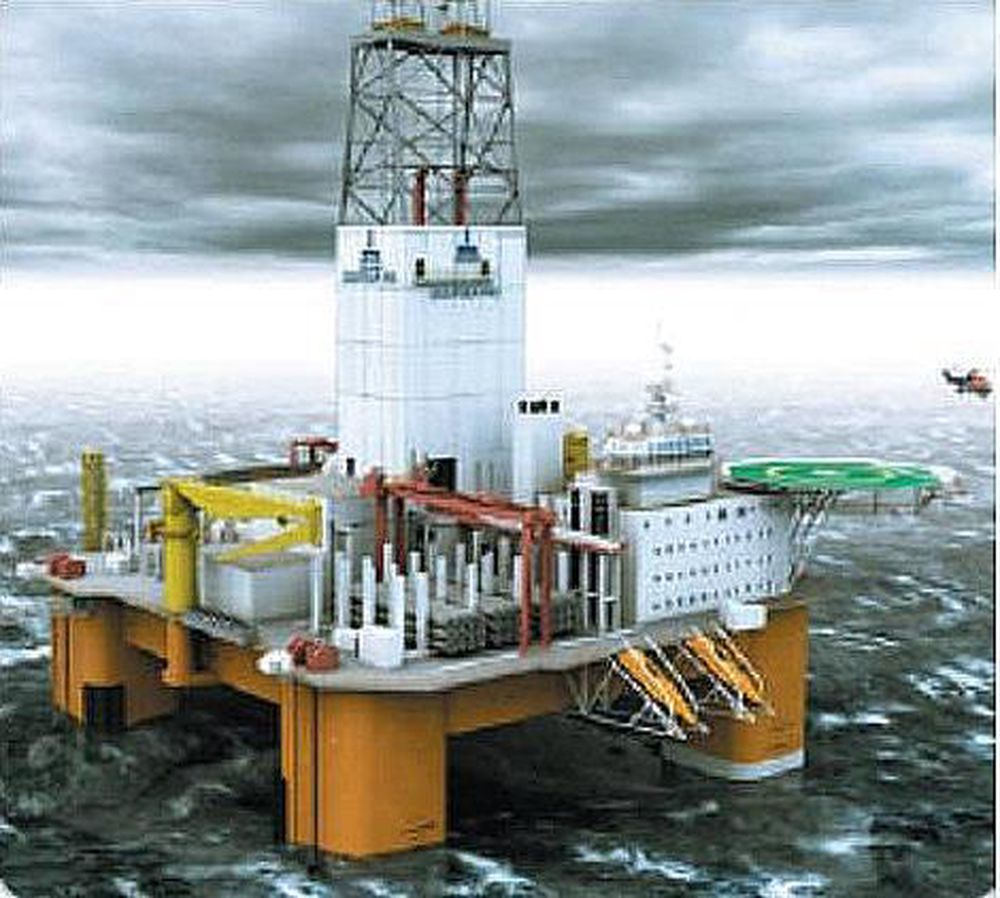 Denne boreriggen har borepakke levert av National Oilwell. Med salget til TTS Marine håper Sense EDM å kunne gi National Oilwell sterk borepakke-konkurranse.