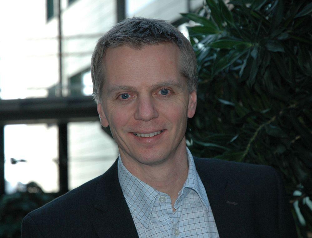 NORGESSJEF: Ragnar Kårhus overtar ledelsen i den nye enheten Telenor Norge.
