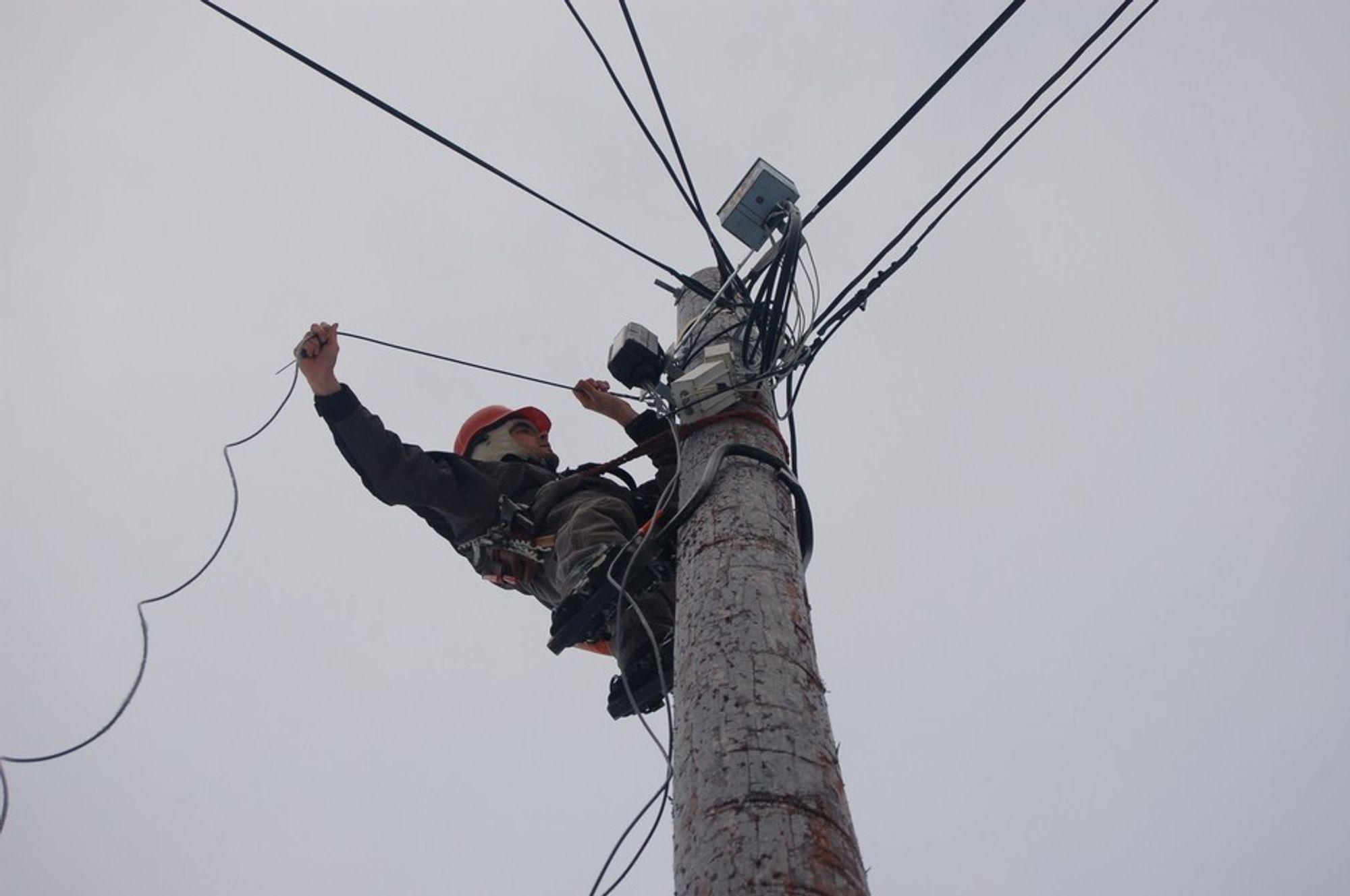 Det koster å føre fiber til hver eneste husstand i Norge. Illustrasjonsfoto.