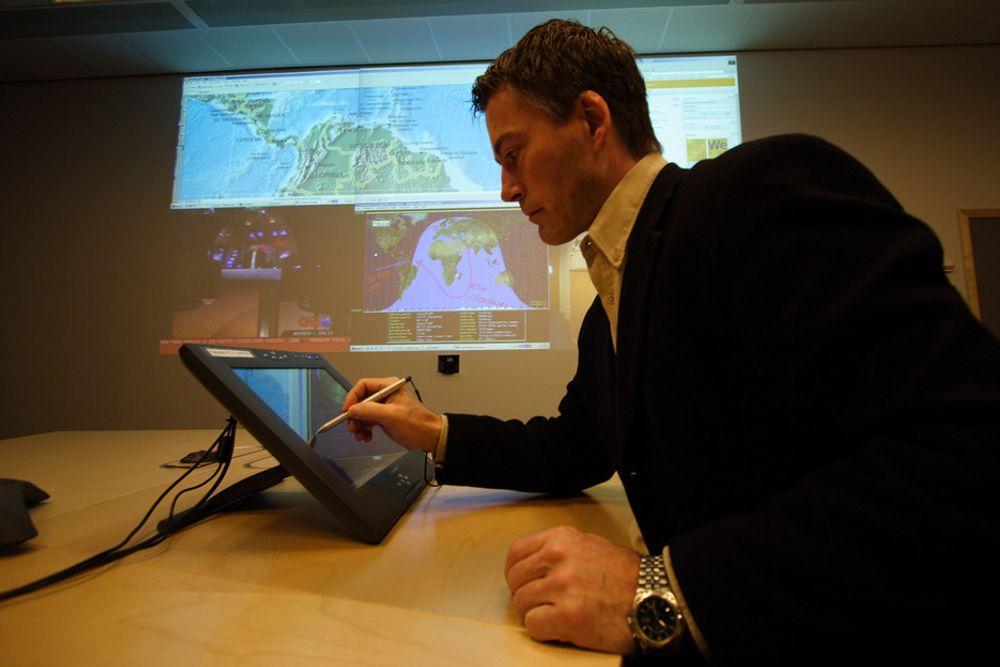 RIK: Norsk olje- og gassindustri samarbeider med internasjonale aktører om utvikling av ny webteknologi. (ILLUSTRASJONSBILDE)