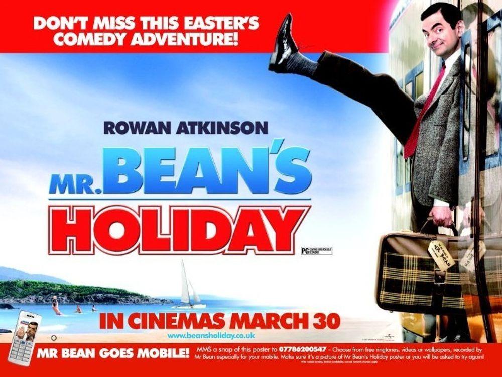 SNAP HAPPY: Mr Beans siste film brukes til å introdusere alternativ identifiseringsteknikk til strekkoder.