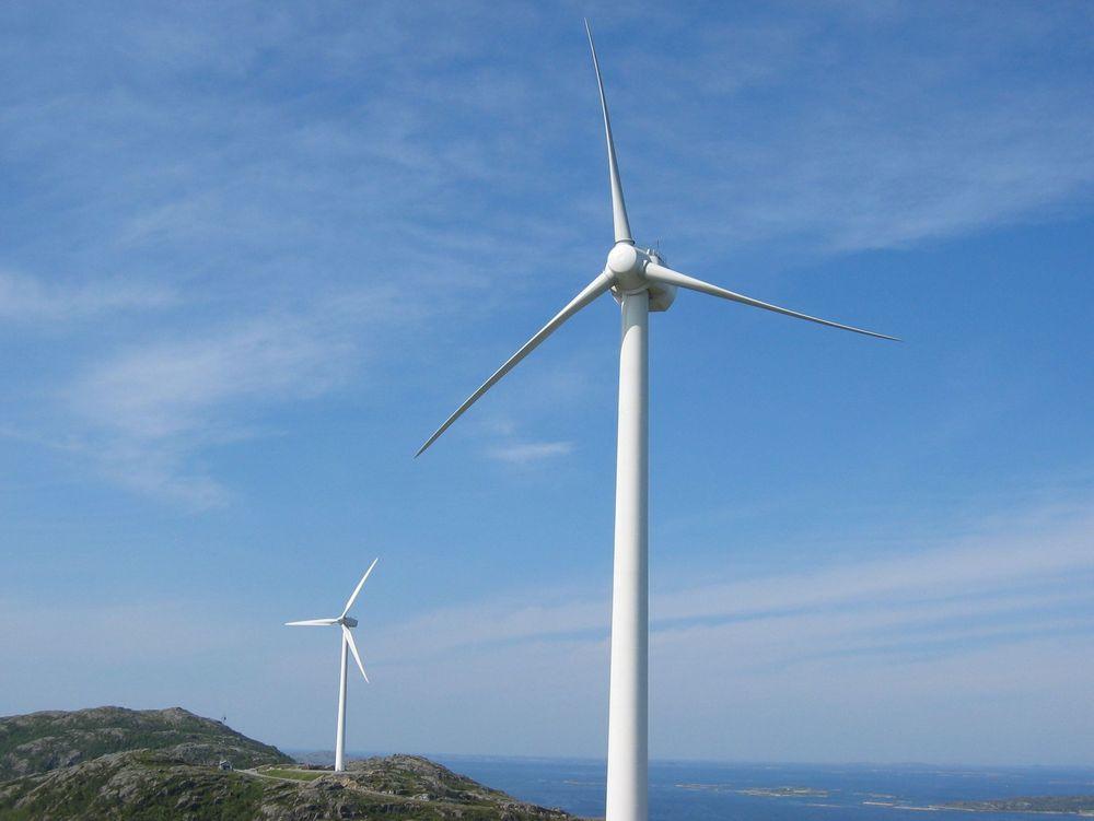Enova bidrar til å skaffe landet mer fornybar energi, deriblant vindkraft. Arkivfoto
