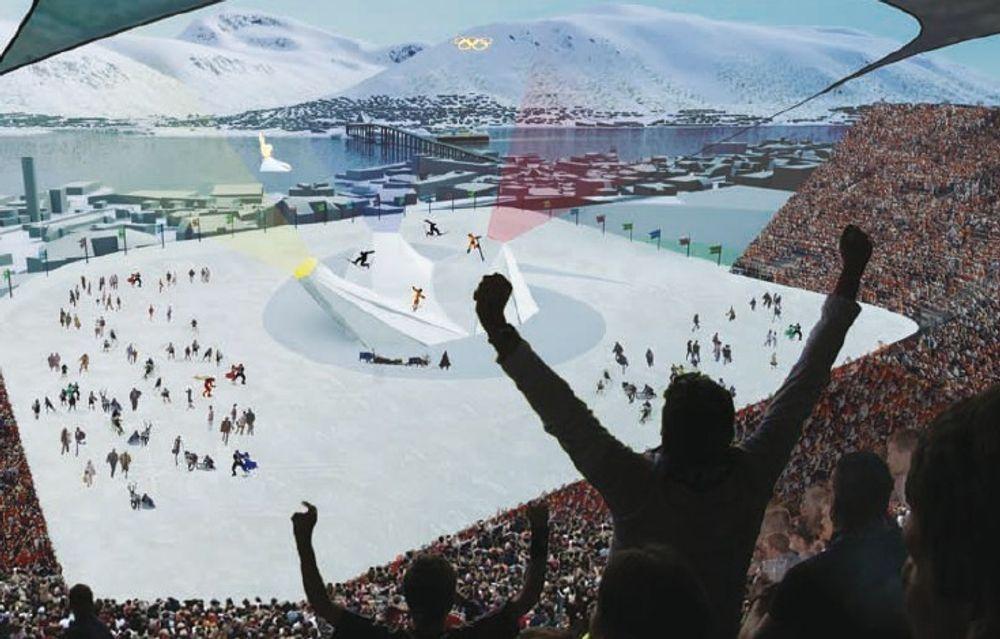Toppstudenter hjelper Tromsø-OL