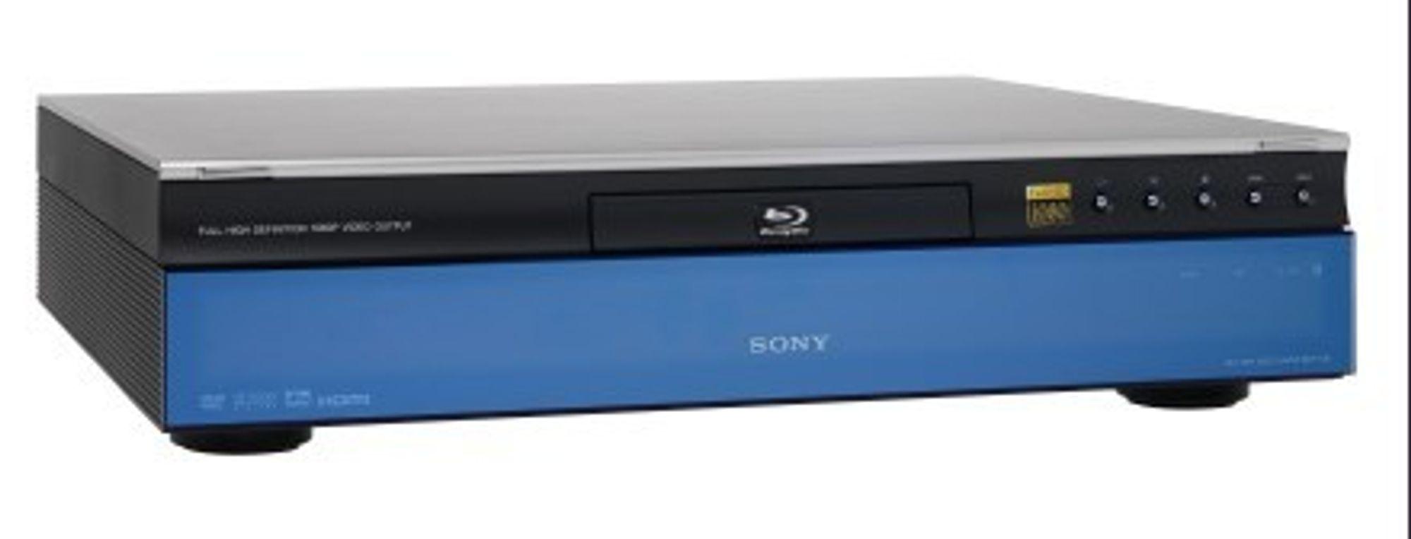 Sonys Blu-ray-spiller BDP-S1E.