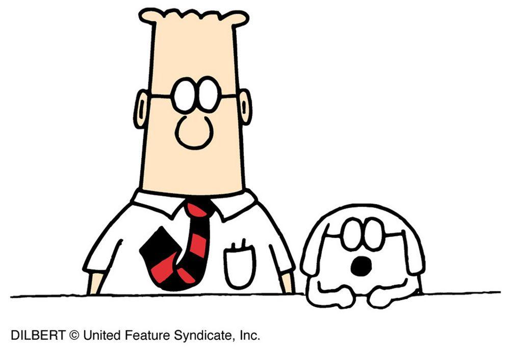 Dilbert på tu.no