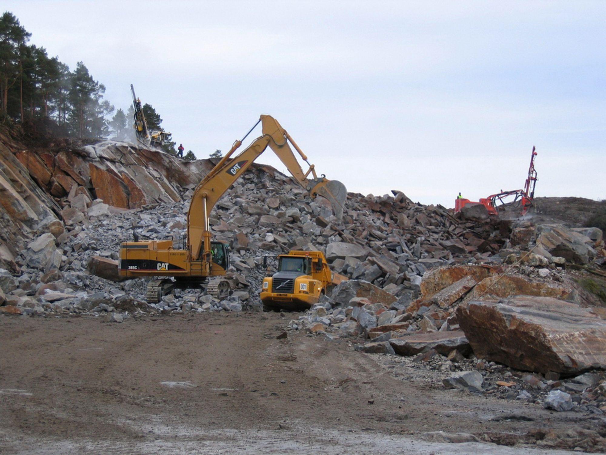 Fra OPS-prosjektet ny E18 mellom Grimstad og Lillesand