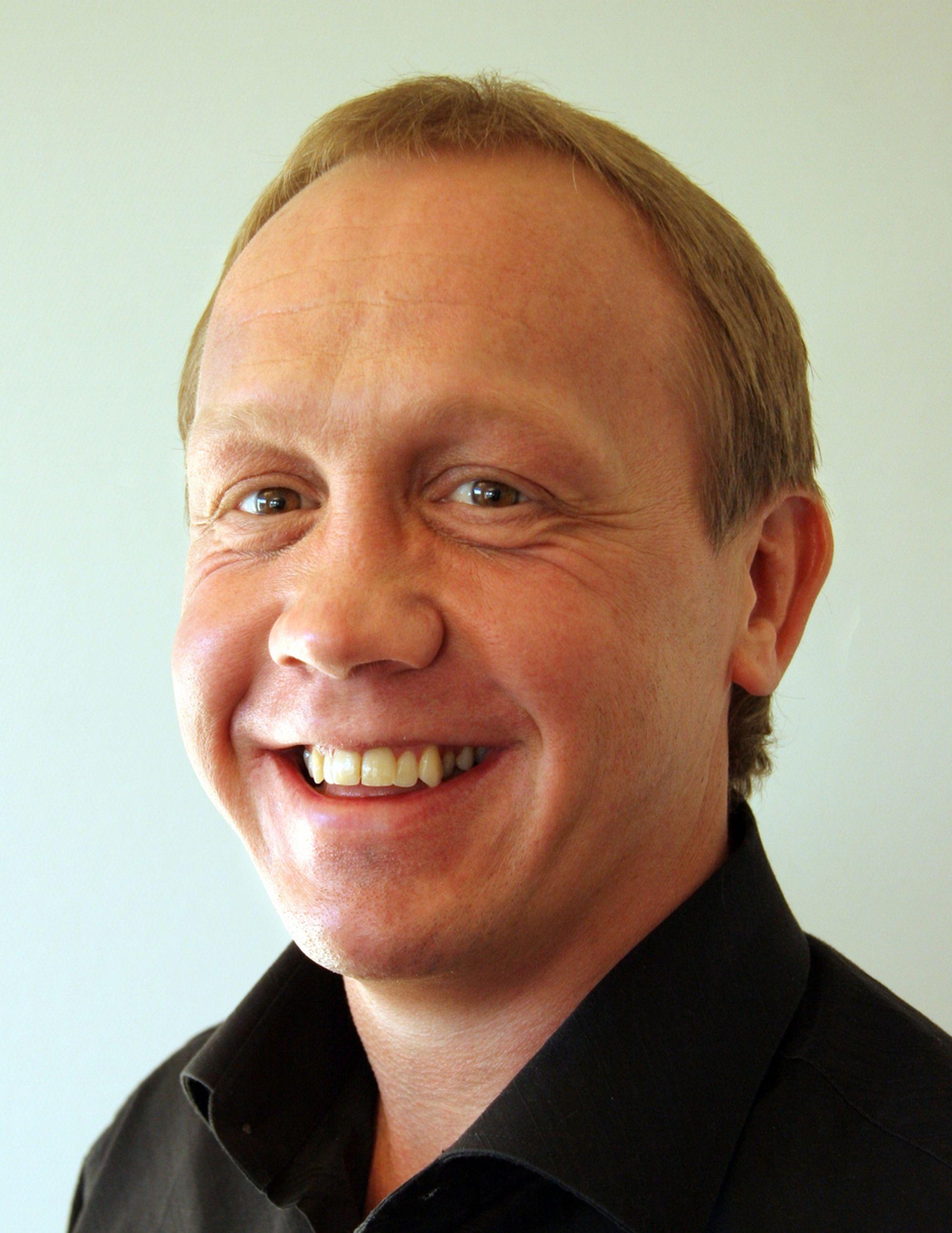 OVERBEVISTE: Daglig leder og IQ-gründer Jonny Tungen har begeistret giganten Microsoft med norsk data- og mobilteknologi.
