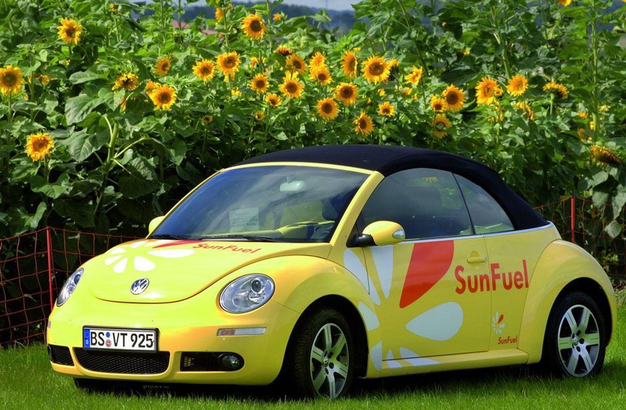 MER MILJØVENNLIG: Volkswagen står sentralt i utviklingen av andre generasjon biodrivstoff.