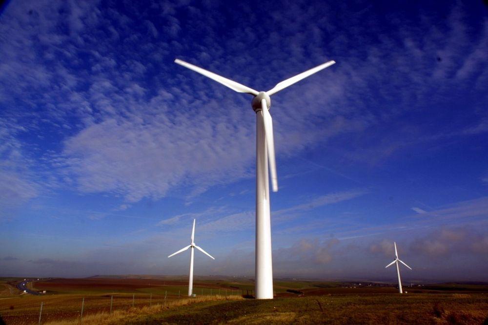 BYGGER VINDPARK I WALES: Statkraft begynte å satse på vindkraft i Storbritannia for snart fem år siden. Totalt ni prosjekter er i sving, og nå er den første konsesjonen i gang. Illustrasjonsbilde