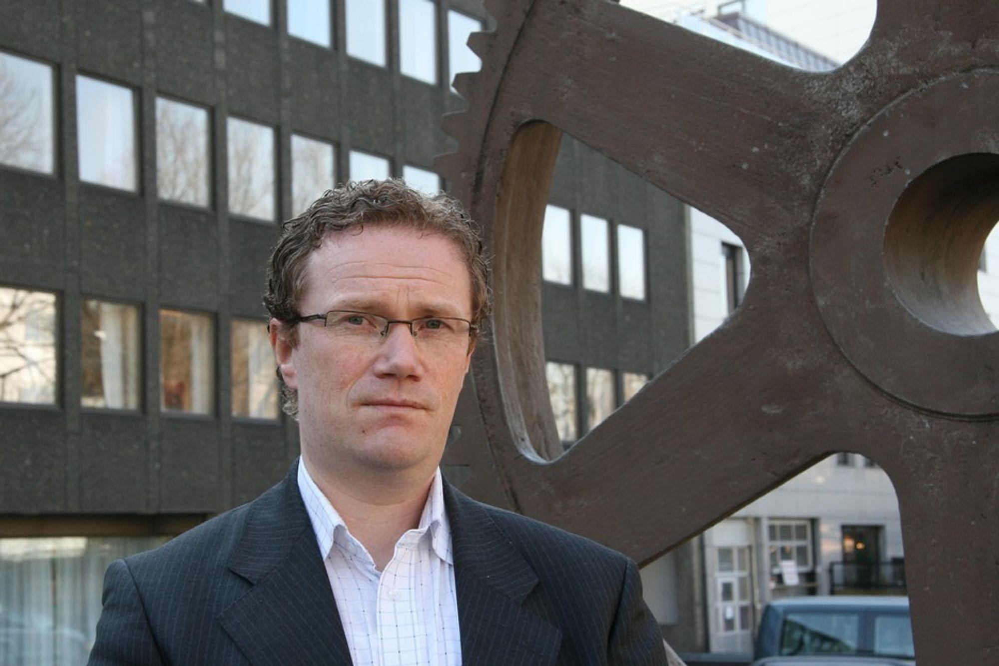 LØFT: - Vi trenger et forskningsløft, sier fagsjef for forskning og innovasjon i Norsk Industri, John Vigrestad.