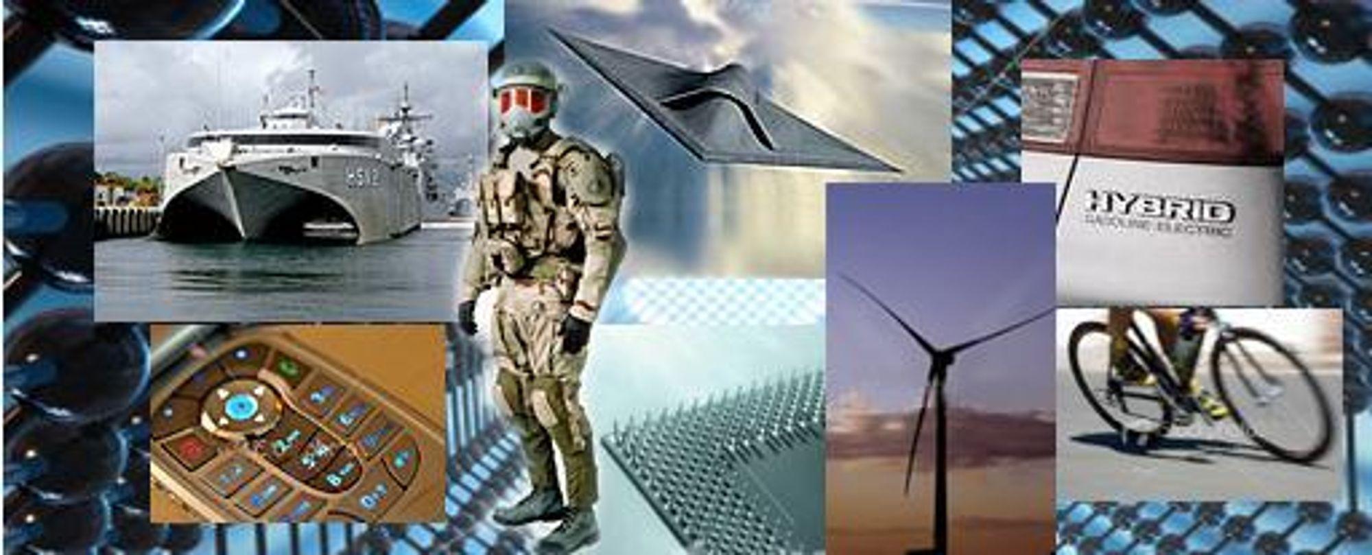 STERKT: Nye karbon-nanorør er minst 7 ganger sterkere enn stål.