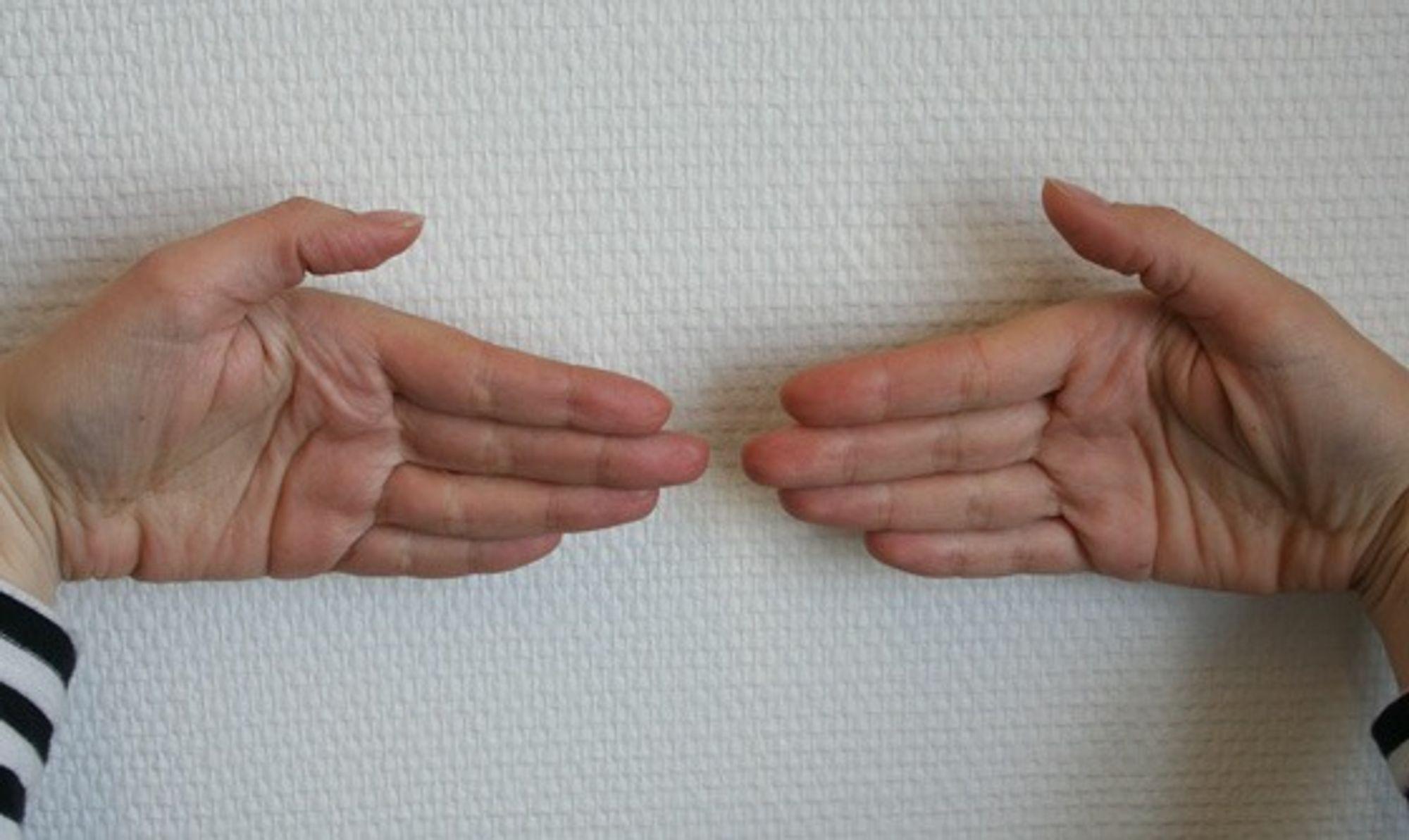 HENDER: Britiske forskere har påvist at lengde på fingrene kan brukes til å spå hvilke evner et barn har.