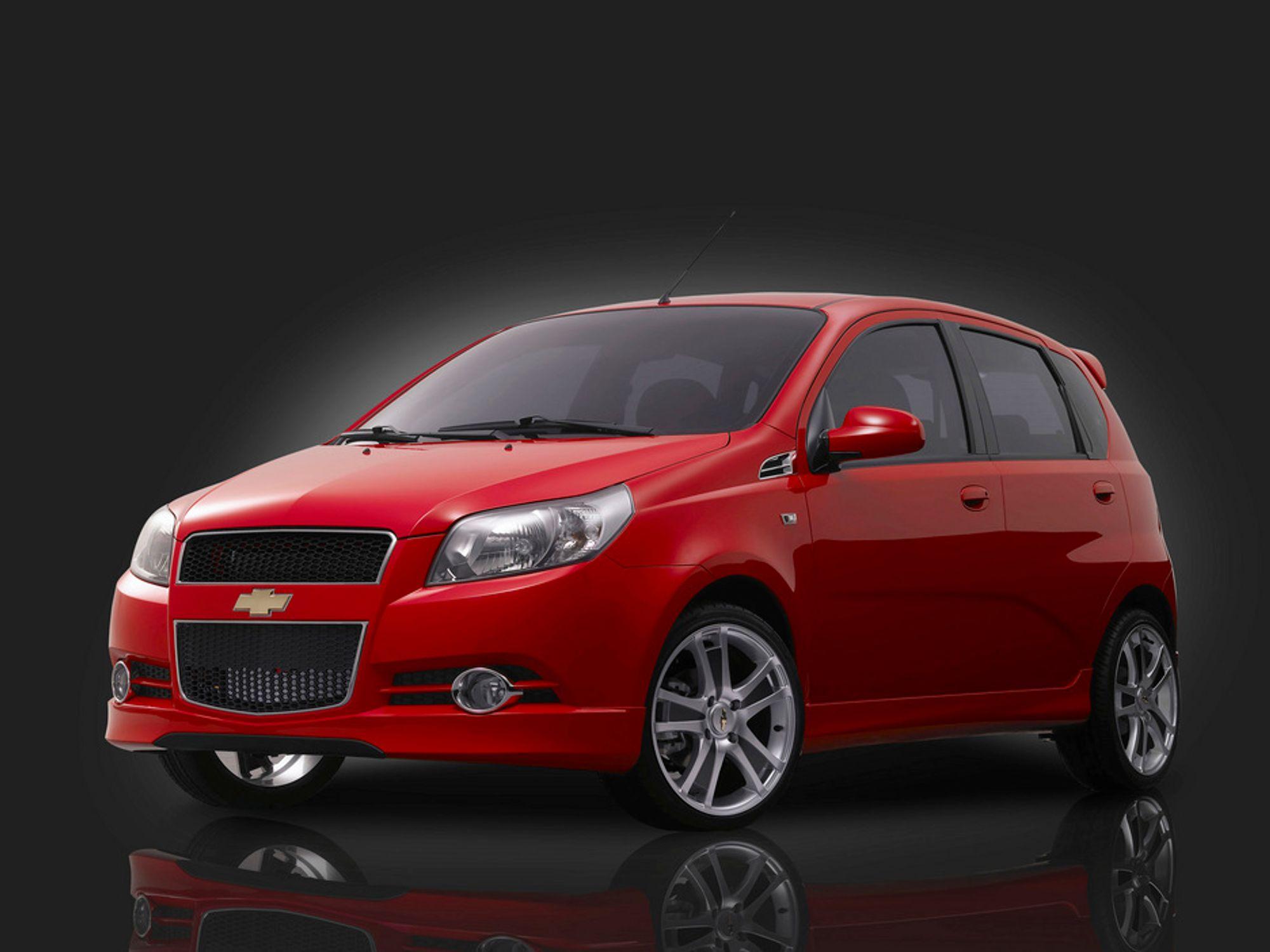 I POLEN: Chevrolet Aveo sedan skal bygges på FSO-fabrikken i Warszava.