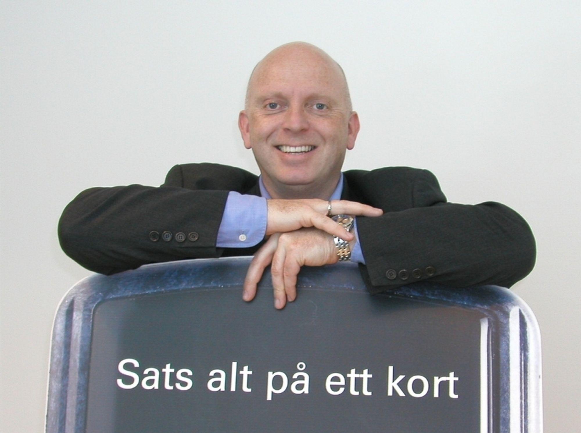 """GUTTA BOYS: Frode Haugli satset alt på et kort - nemlig Kjell Erik Tenold - som har hatt suksesss i Alcatel, Cisco og Telenor. Dermed er de to bransjekjendiser i ledelen av """"nye"""" Software Innovation."""