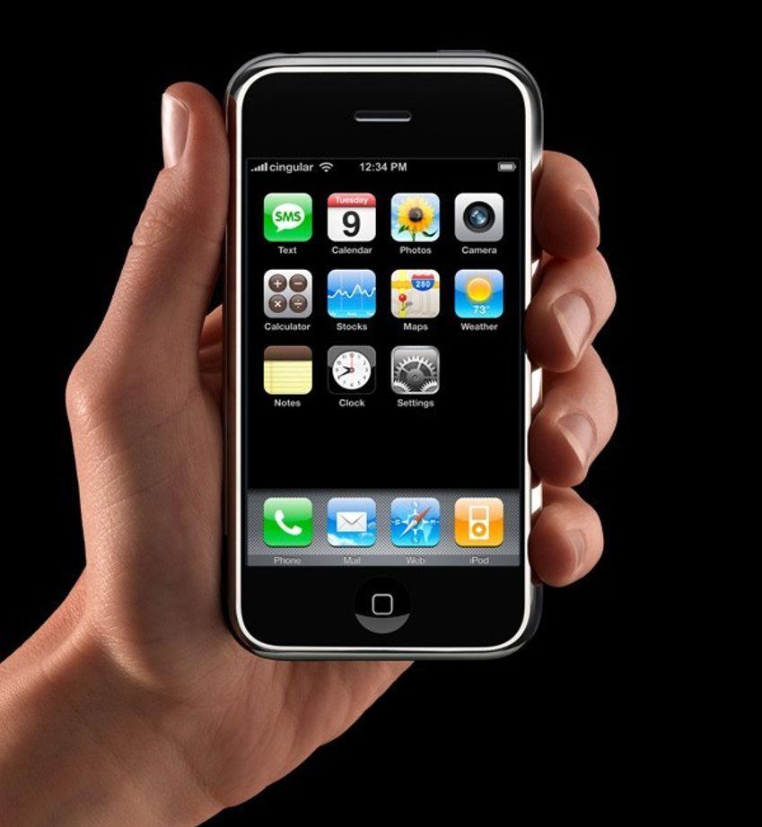 FIN, MEN GIFTIG: iPhone - mobiltelfon og en del mer - blant annet masse miljøgifter..