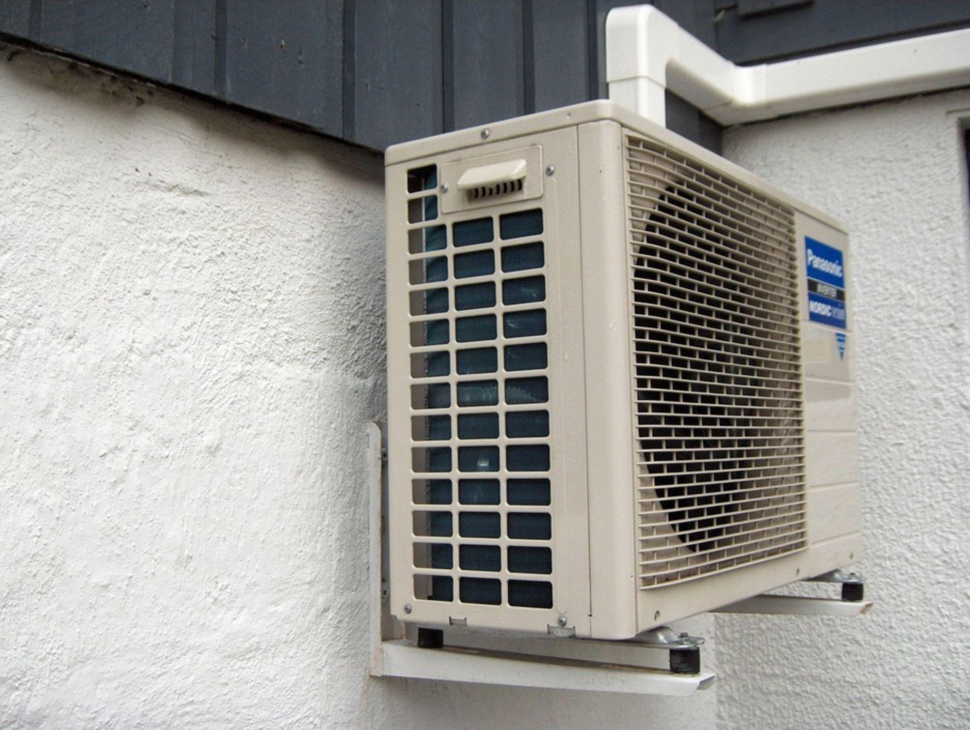 MARKANT ØKNING: Varmepumper bidrar allerede med 4TWh netto varmetilskudd i året.
