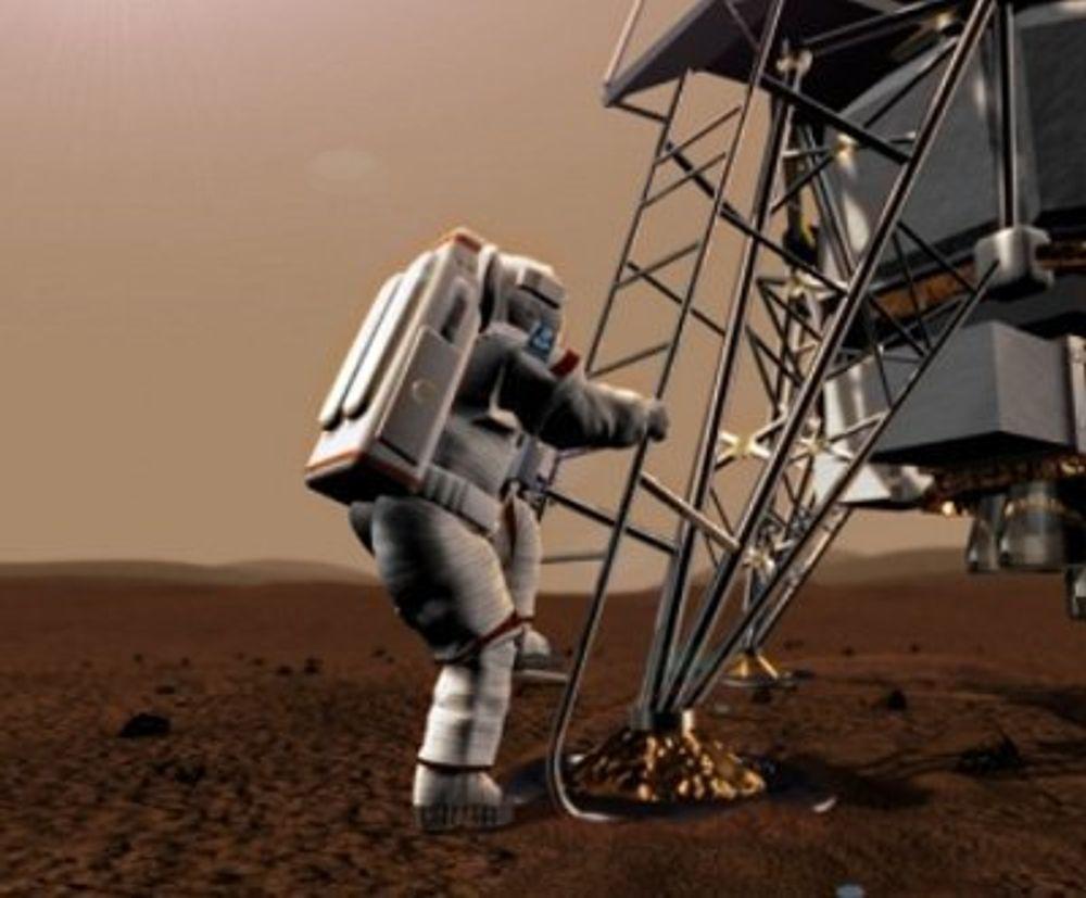 Drømmen om å dra til Mars kan bli - om ikke en virkelighet, så i alle fall en simulert virkelighet - for deg.