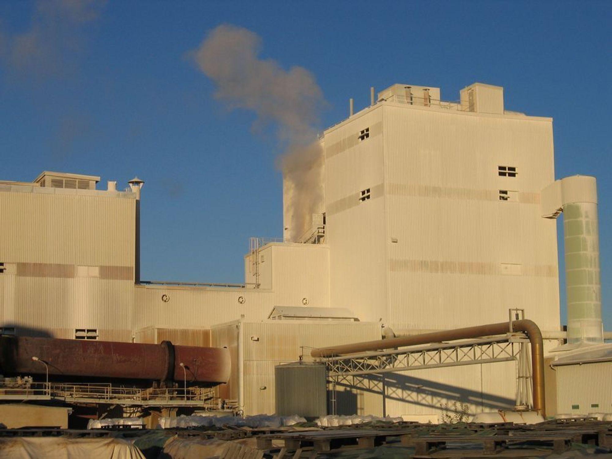 KAN FÅ LNG-TILGANG: Kronos Titan er blant bedriftene som hilser en LNG-terminal i Sarpsborg svært velkommmen.