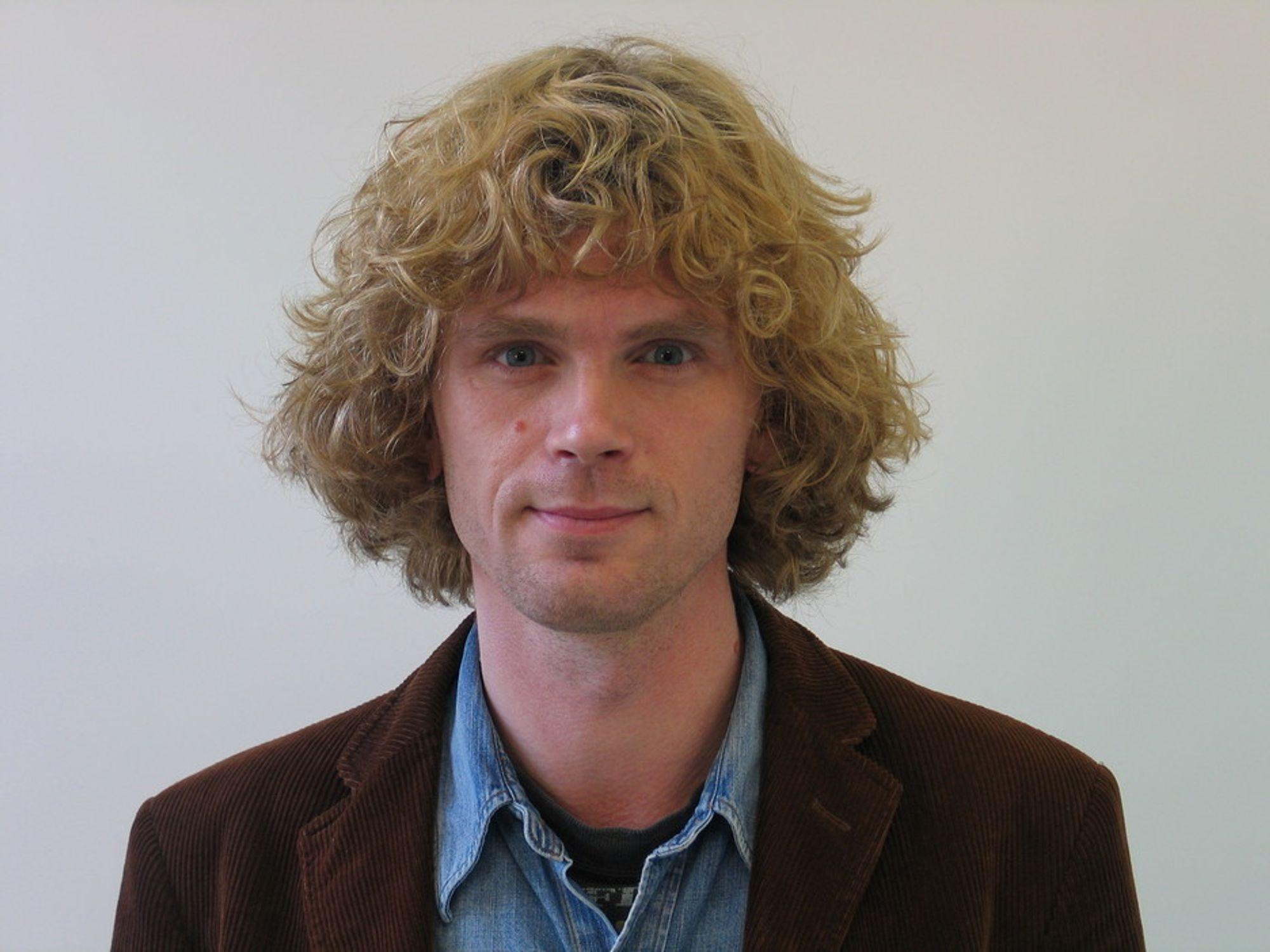 Thomas Palm i miljøorganisasjonen Zero.