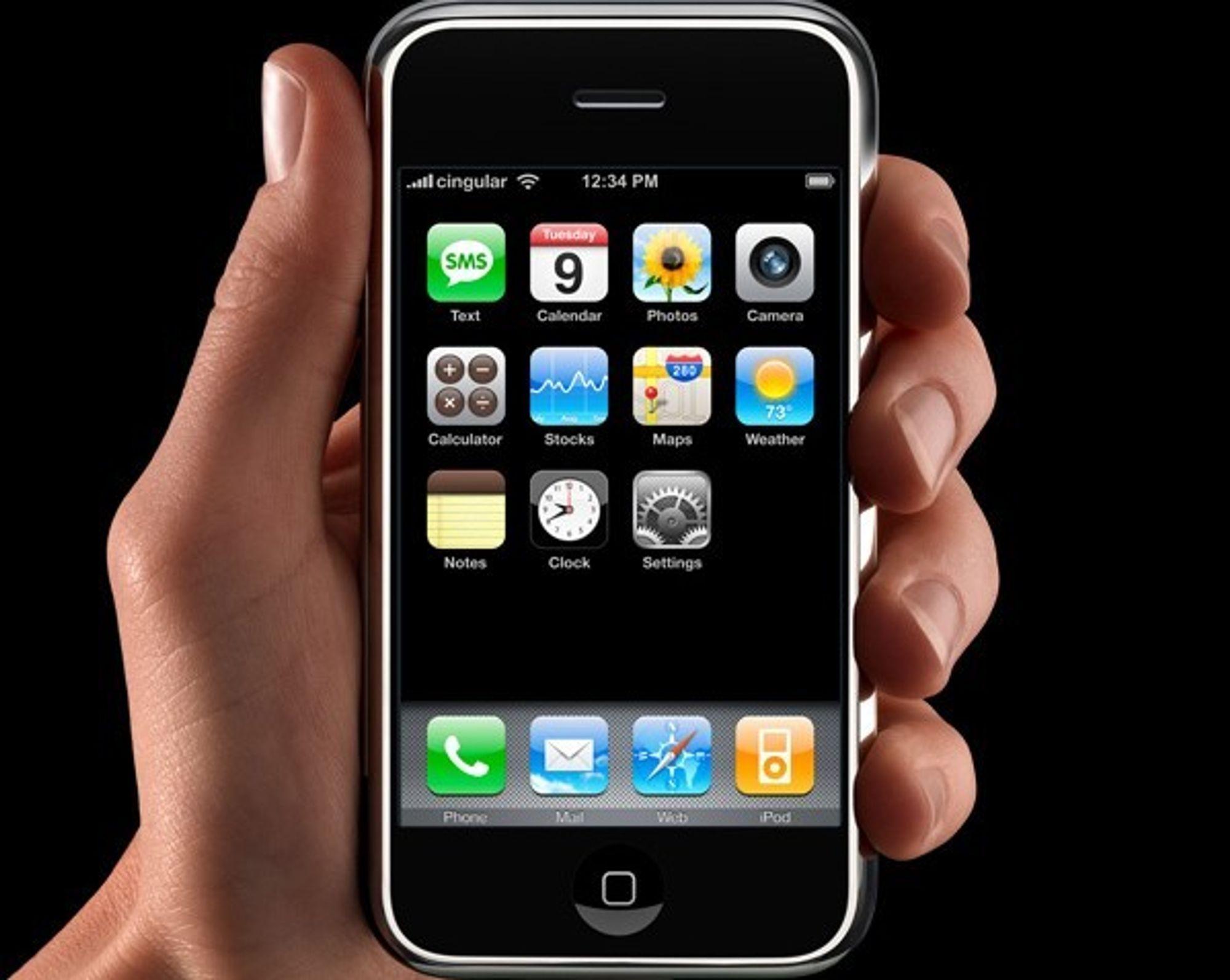 KNEKKER. Iphone-eiere vil ikke være bundet til ett mobilselskap og knekker koden for å velge selv.