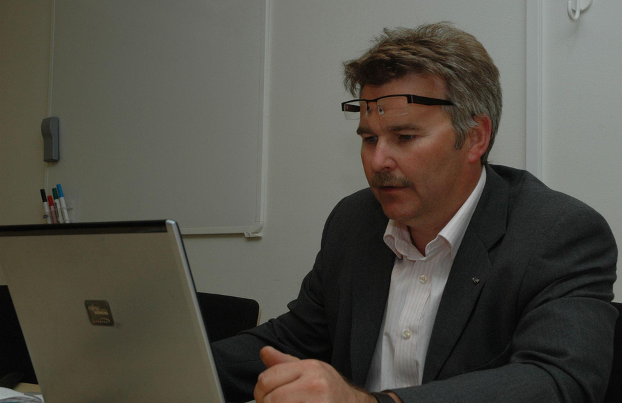 Adm.dir i NCC Norge, Sven Christian Ulvatne.