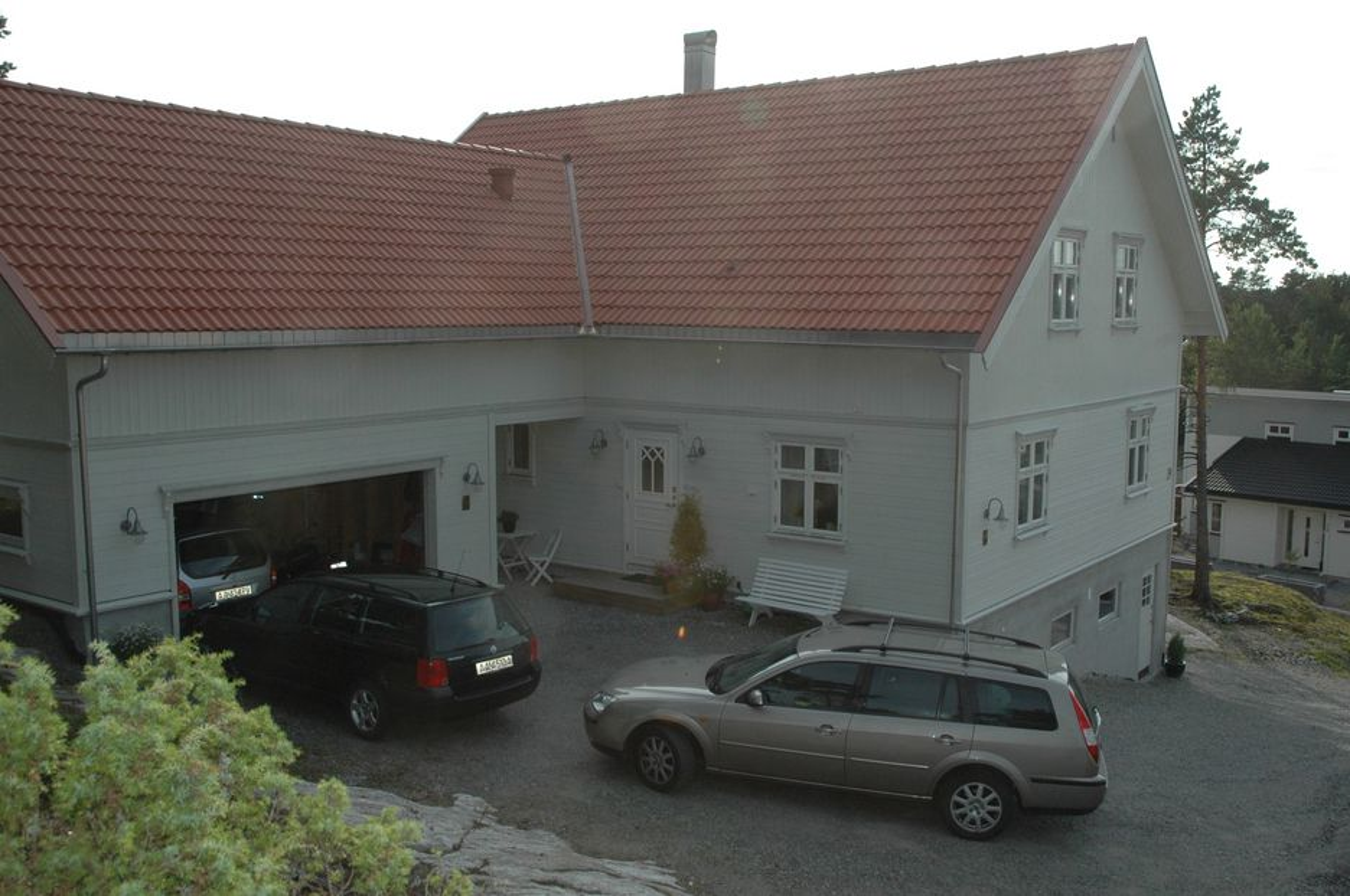 ALT GALT: Nesten ingenting er korrekt i dette huset i Halden som er ført opp av en bygningsingeniør til eget bruk.