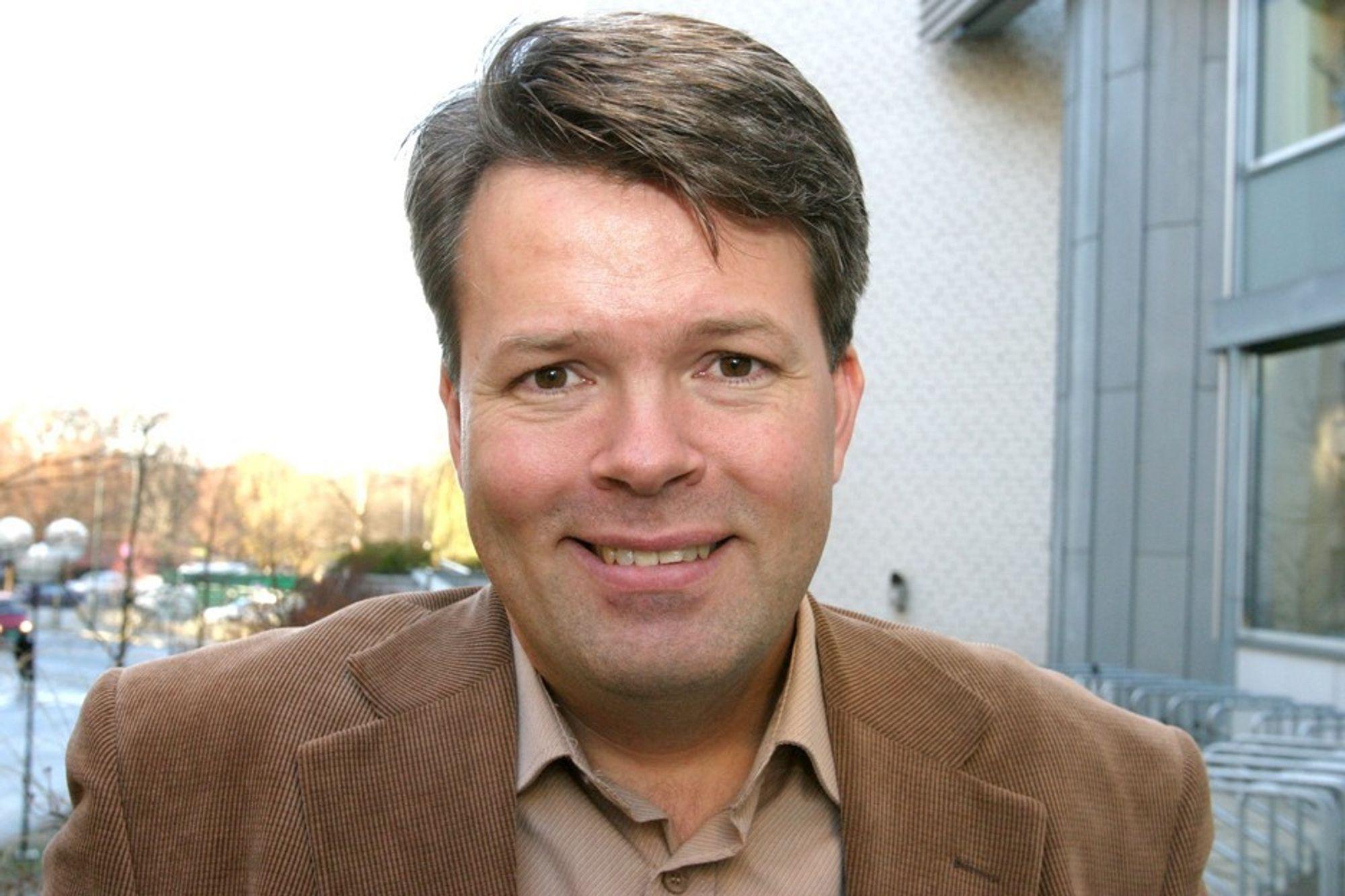 BNLs næringspolitiske direktør Audun Lågøyr.