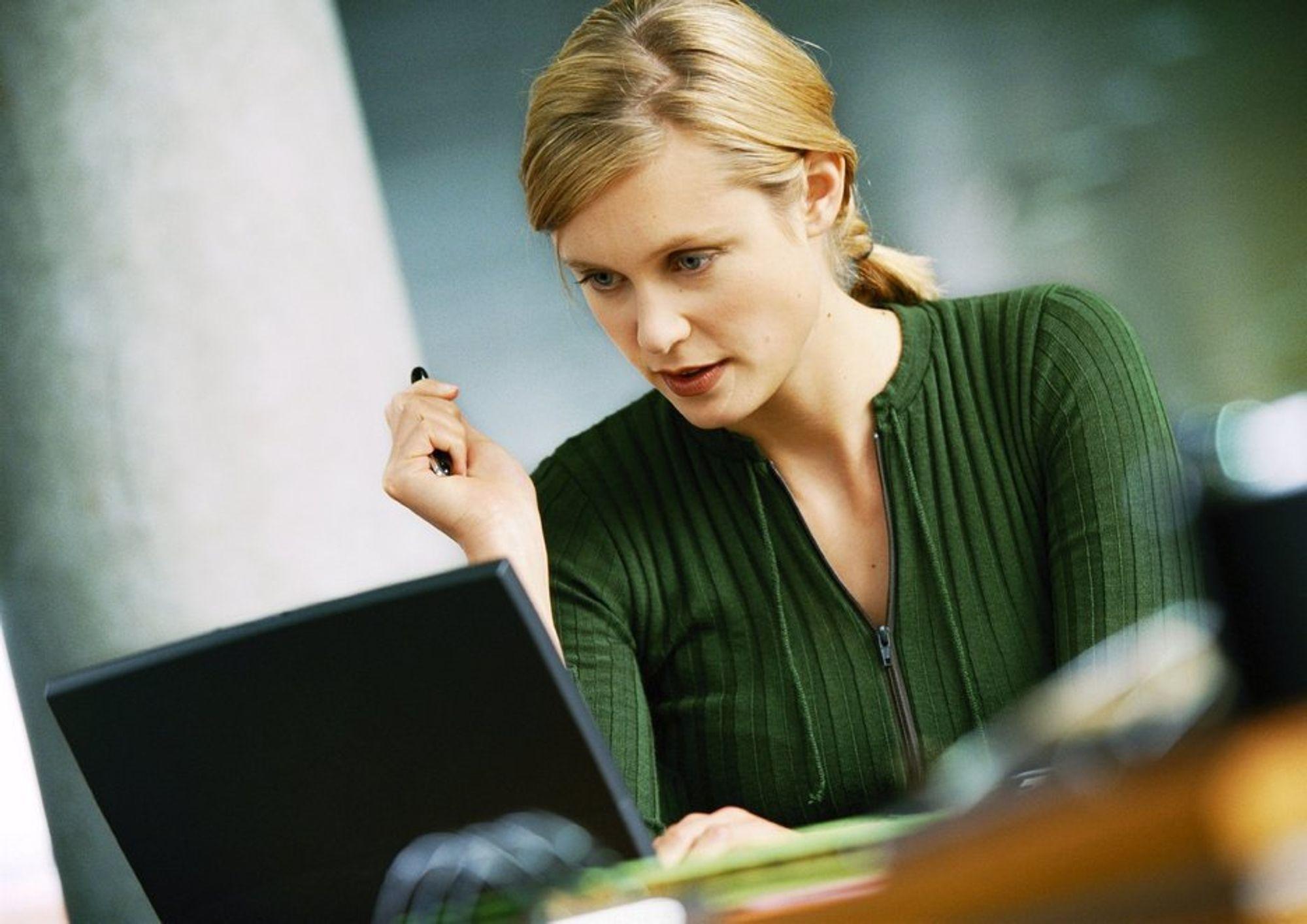 MÅ SJERPE SEG: En Tromsøkvinne mener at Nettby må forbedre sine systemer eller endre sikkerheten.