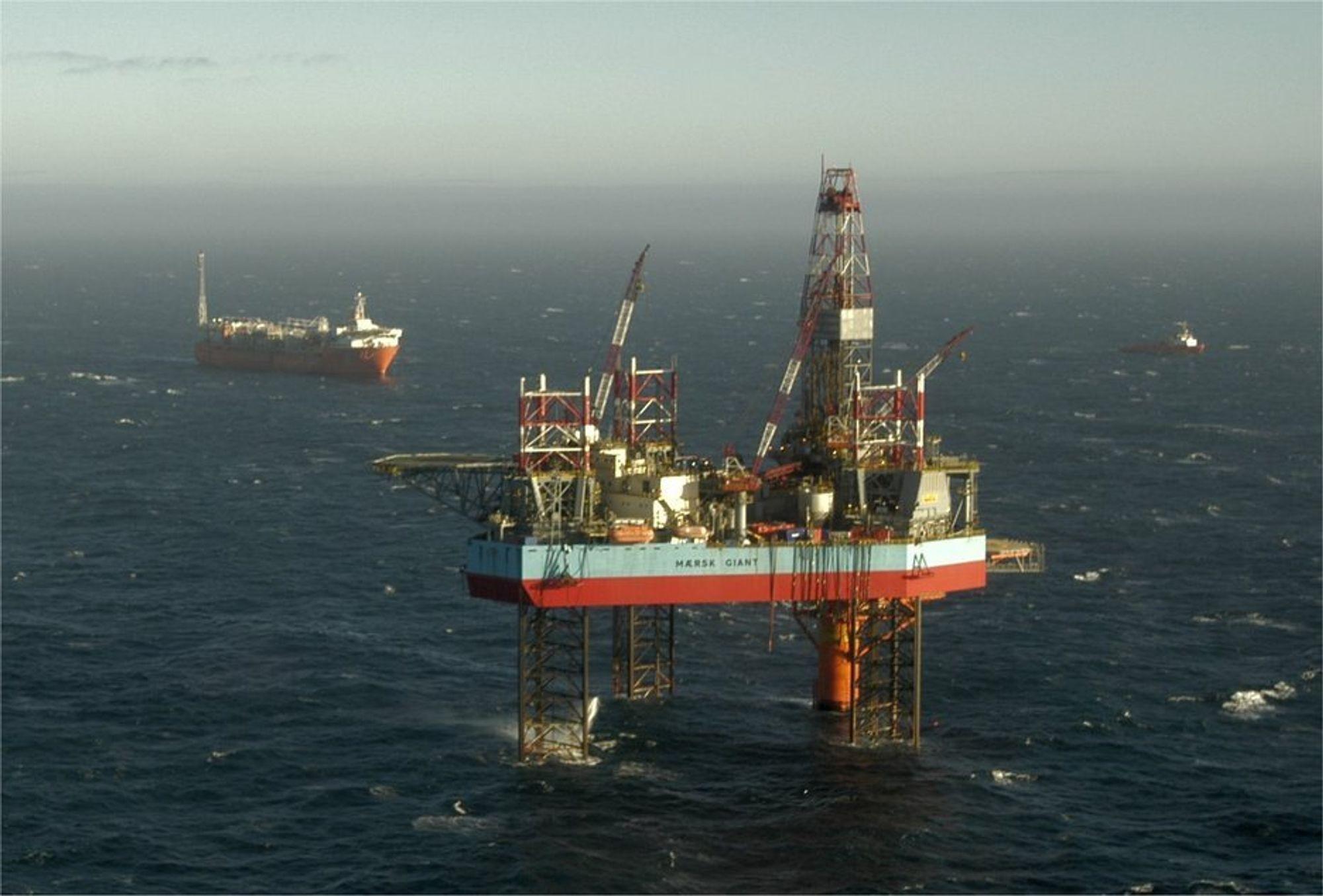 VARG: Pertra innledet sitt liv som operatør på Varg. Dette er nå overlatt til Talisman. Oljeproduksjonen herfra gir Pertra 500 fat olje daglig.
