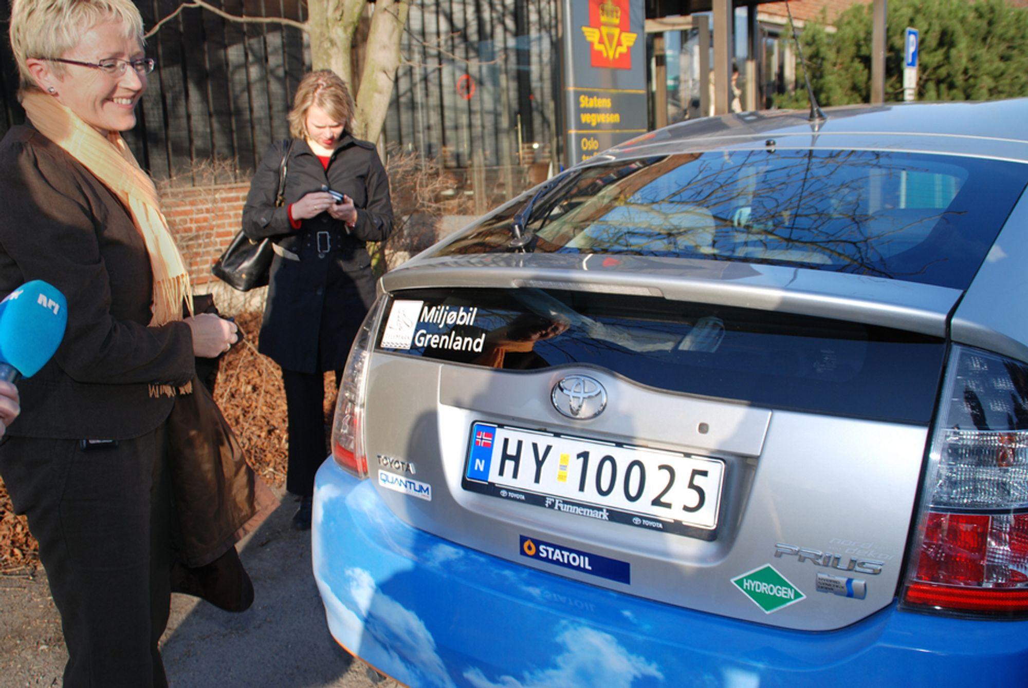 Dersom samferdselsministeren får mange slike hydrogenbiler på veiene, kan hun få nye sikkerhetsutfordringer knyttet til tunneler, hevder britiske forskere.