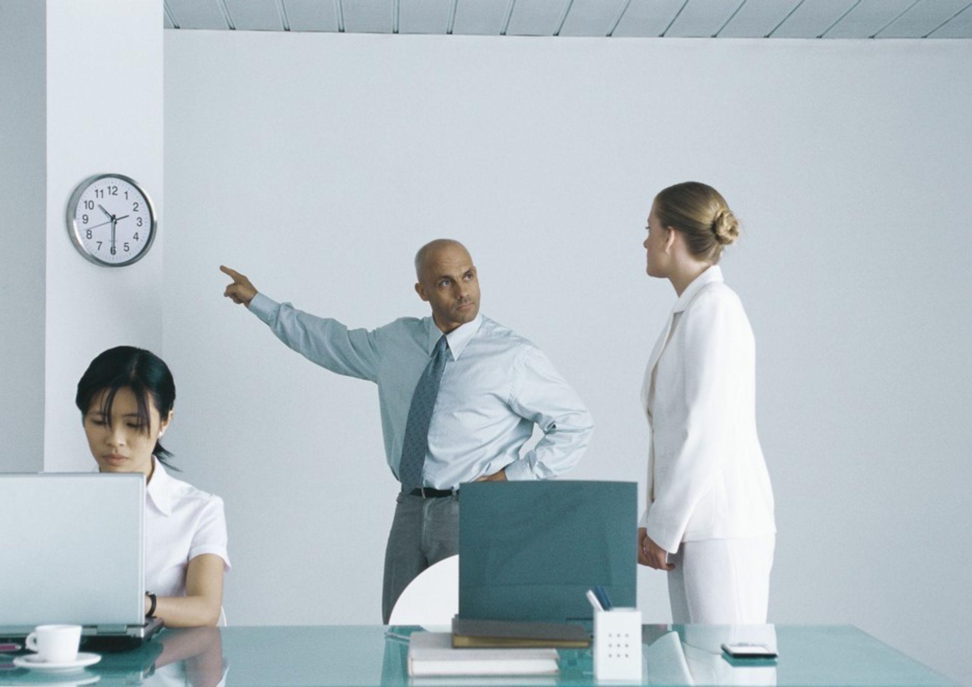 KAOS: Stressa og utilgjengelig. Det er oppskriften for en sjef som ikke vil lykkes med en endringsprosess.