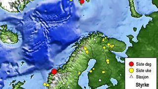 Jordskjelvende norsk grunnfjell