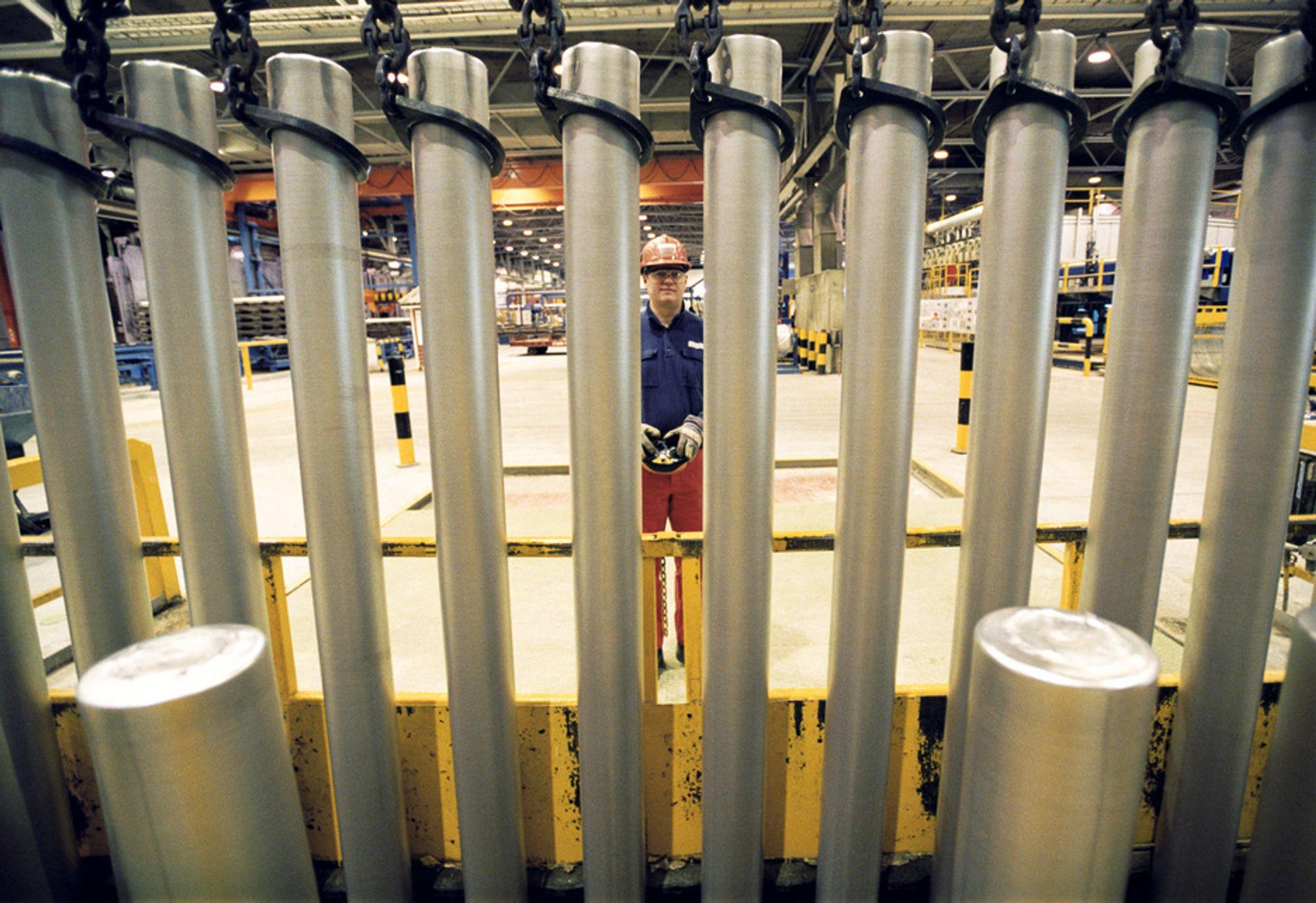 Hydro Karmøy sliter med utslippene