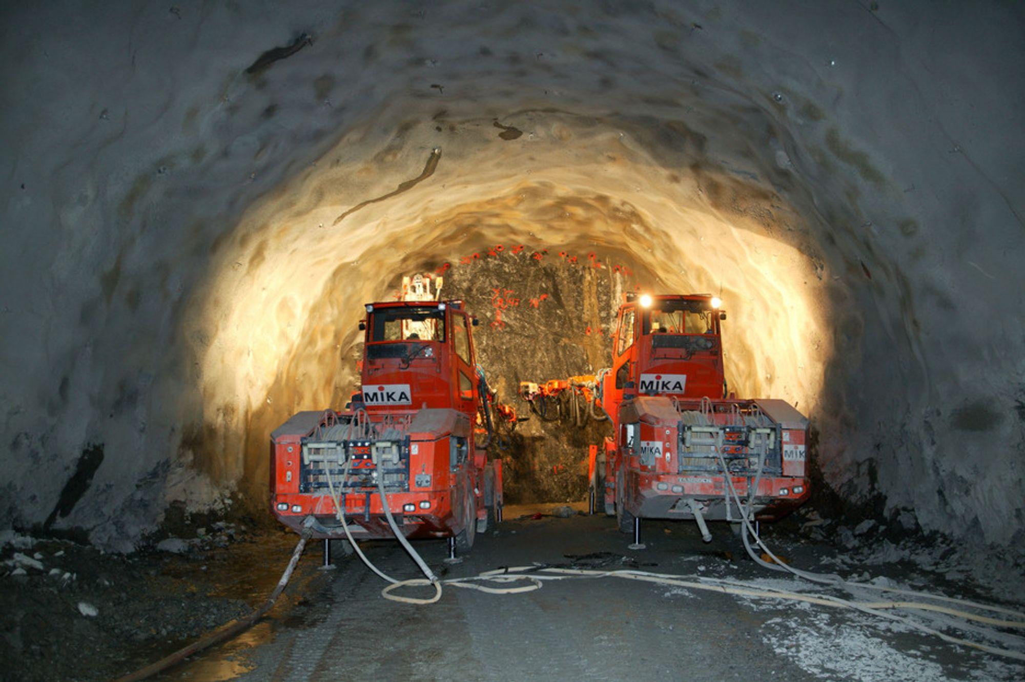 40 NYE TUNNELER skal bygges i problematisk fjell i og rundt Oslo.
