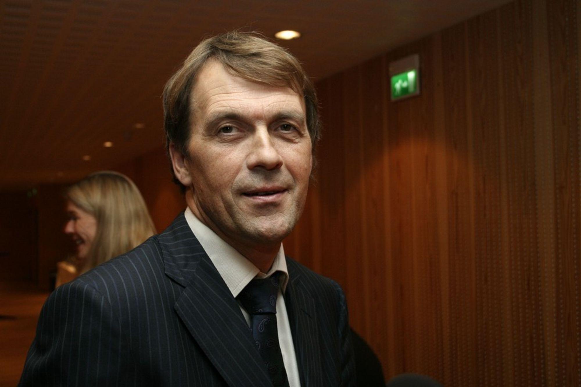 OPTIMIST: Eivind Reiten har fortsatt tro på Shtokman.