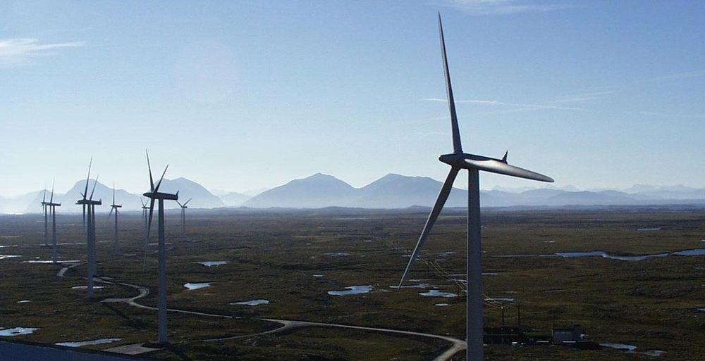 I VINDEN I KINA: Vardar AS, eid av Buskerud fylkeskommune, skal bygge en vindmøllepark med 120-150 vindmøller i Hubei-provinsen.