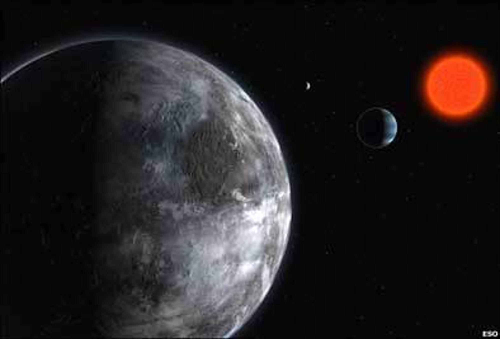 Slik kan planeten se ut.