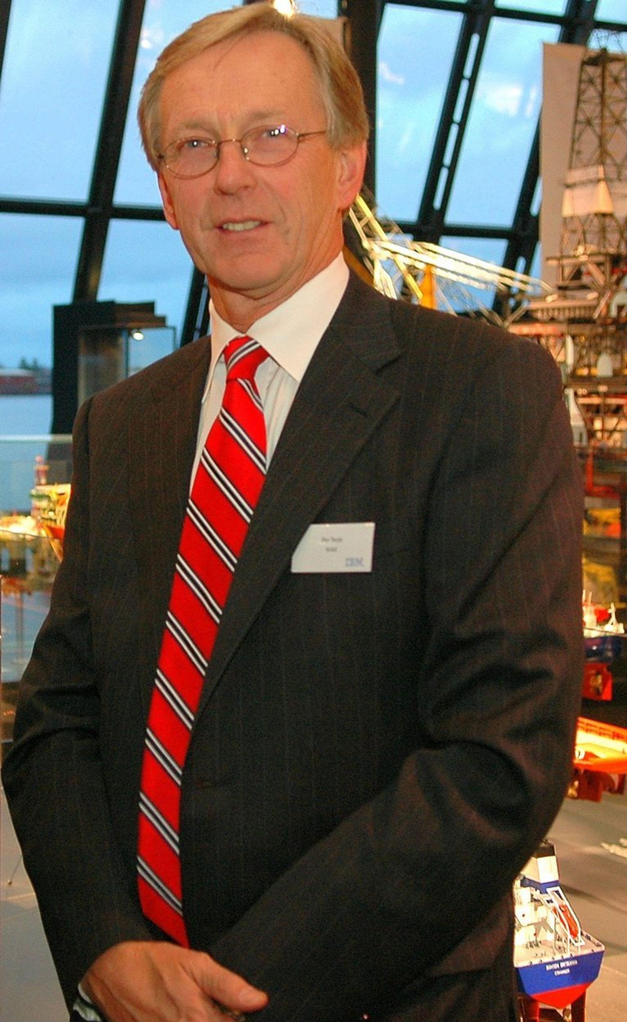 Administrerende direktør OLF, Per Terje Vold.