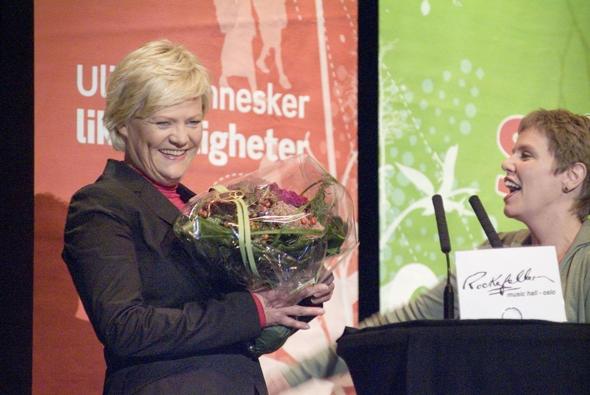 Finansminister Kristin Halvorsen.
