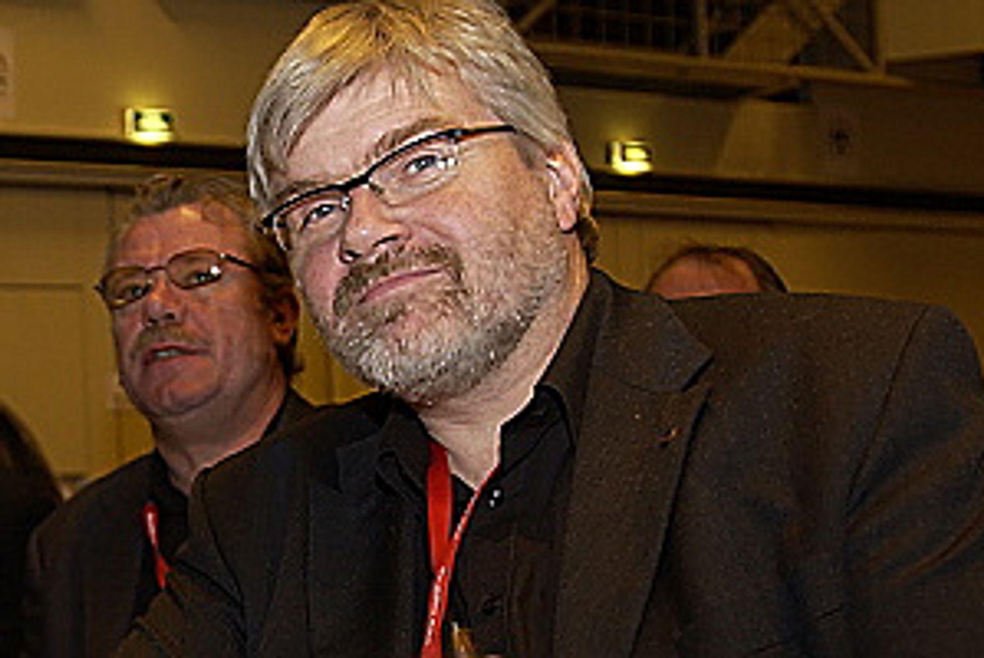 Leder i Industri Energi, Leif Sande.