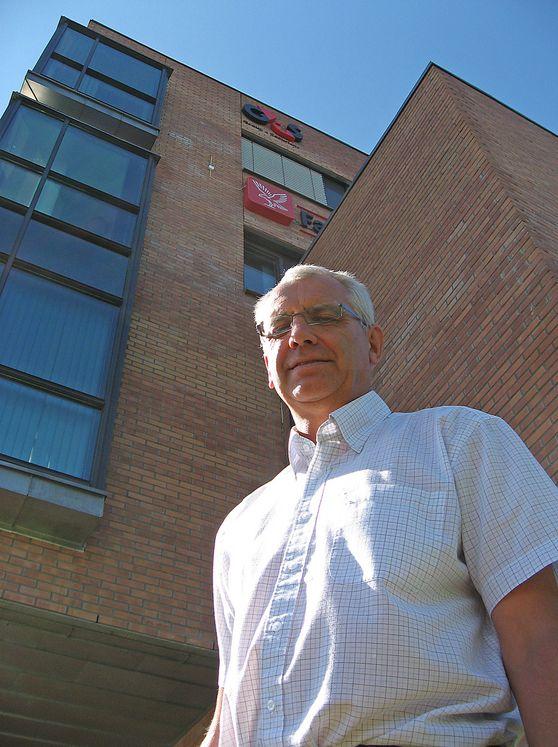 SMART ELDREBØLGE:  Borger Larsen i G4S tror hjemmeboende eldre vil bli et vekstområde for en ny generasjon smartere alarmsystemer.