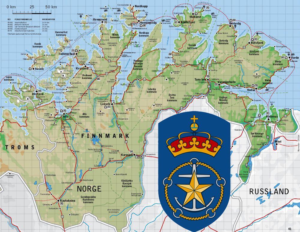 Kystverket vil ha kontroll over hvilke områder i Finnmark som skal innvaderes som konsekvens av økt olje- og gassvirksomhet.