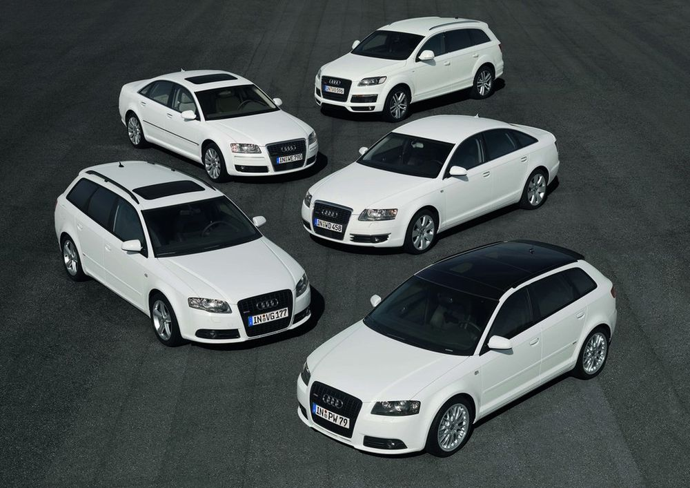 Audi biler Q7 A6 Avant A3 Sportback A4 A8